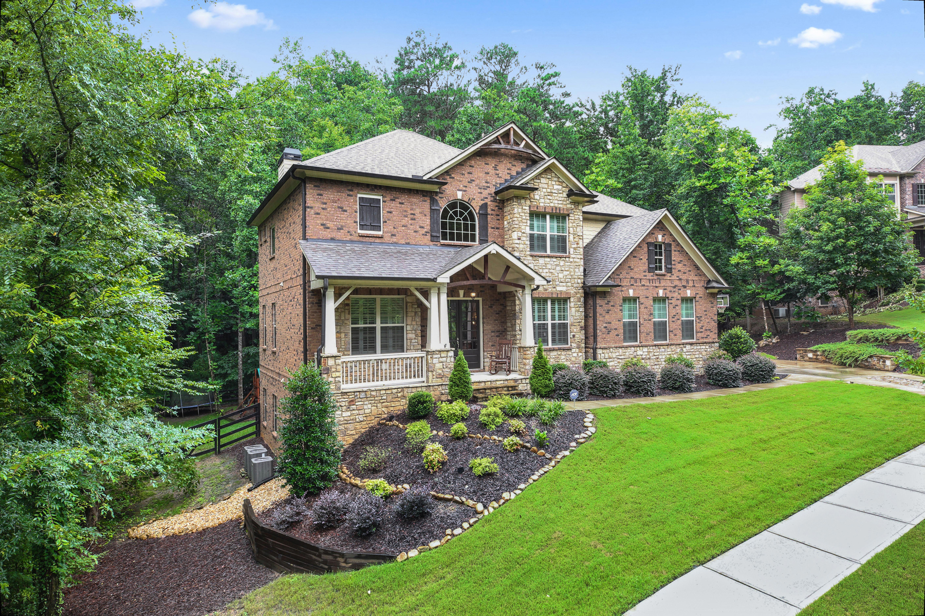Single Family Home for Sale at Sophisticated Roswell Beauty In Private Community 1010 Taimen Drive Roswell, Georgia 30075 United States