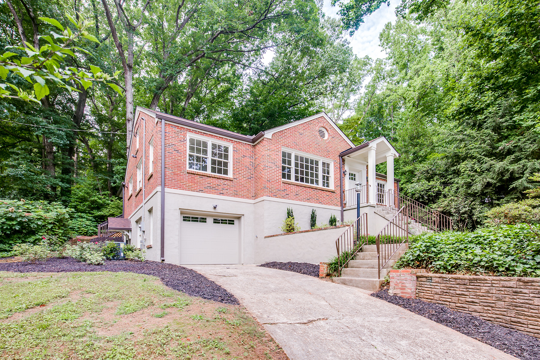 Single Family Home for Sale at Renovated Open Concept With Master Suite On The Main Floor 1663 E Clifton Road NE Atlanta, Georgia 30307 United States