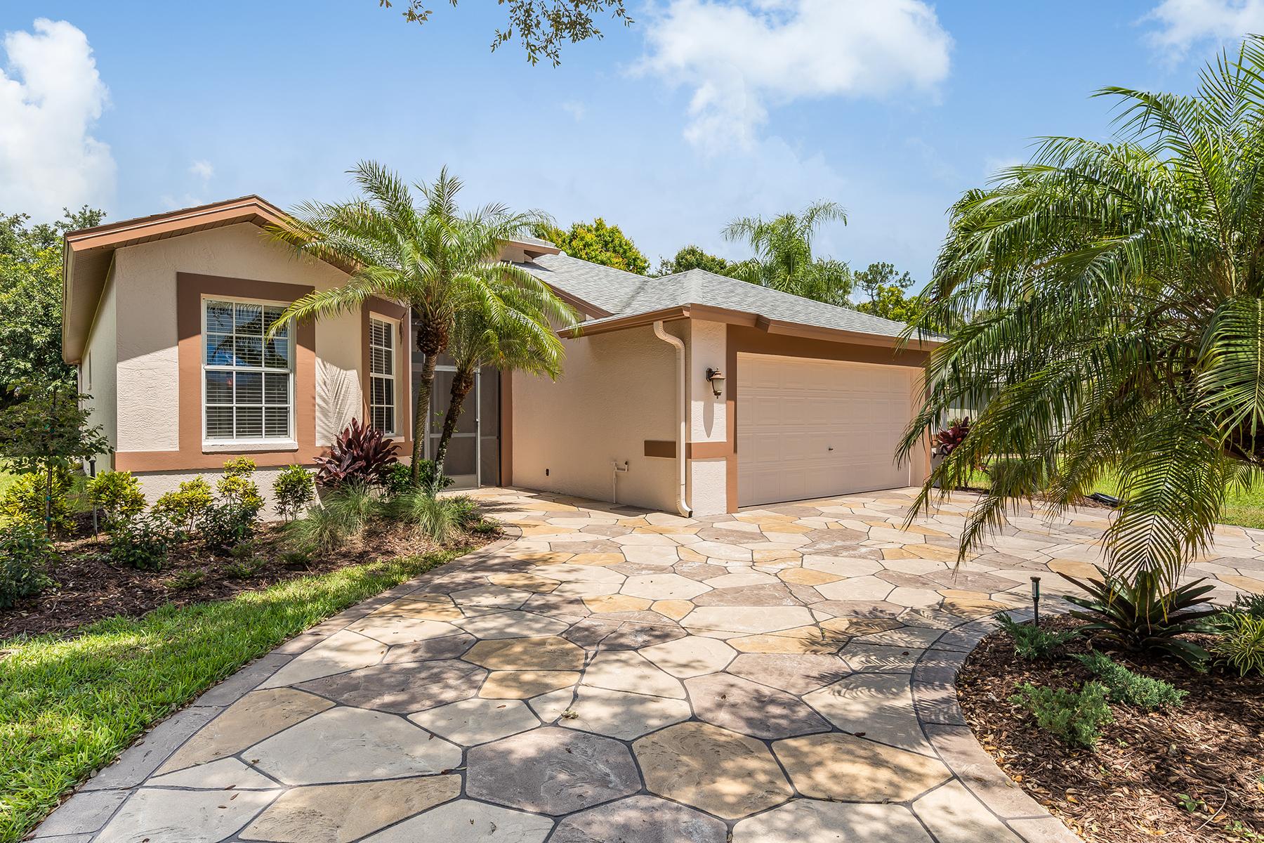 獨棟家庭住宅 為 出售 在 BRIARWOOD 732 Teton Ct Naples, 佛羅里達州 34104 美國
