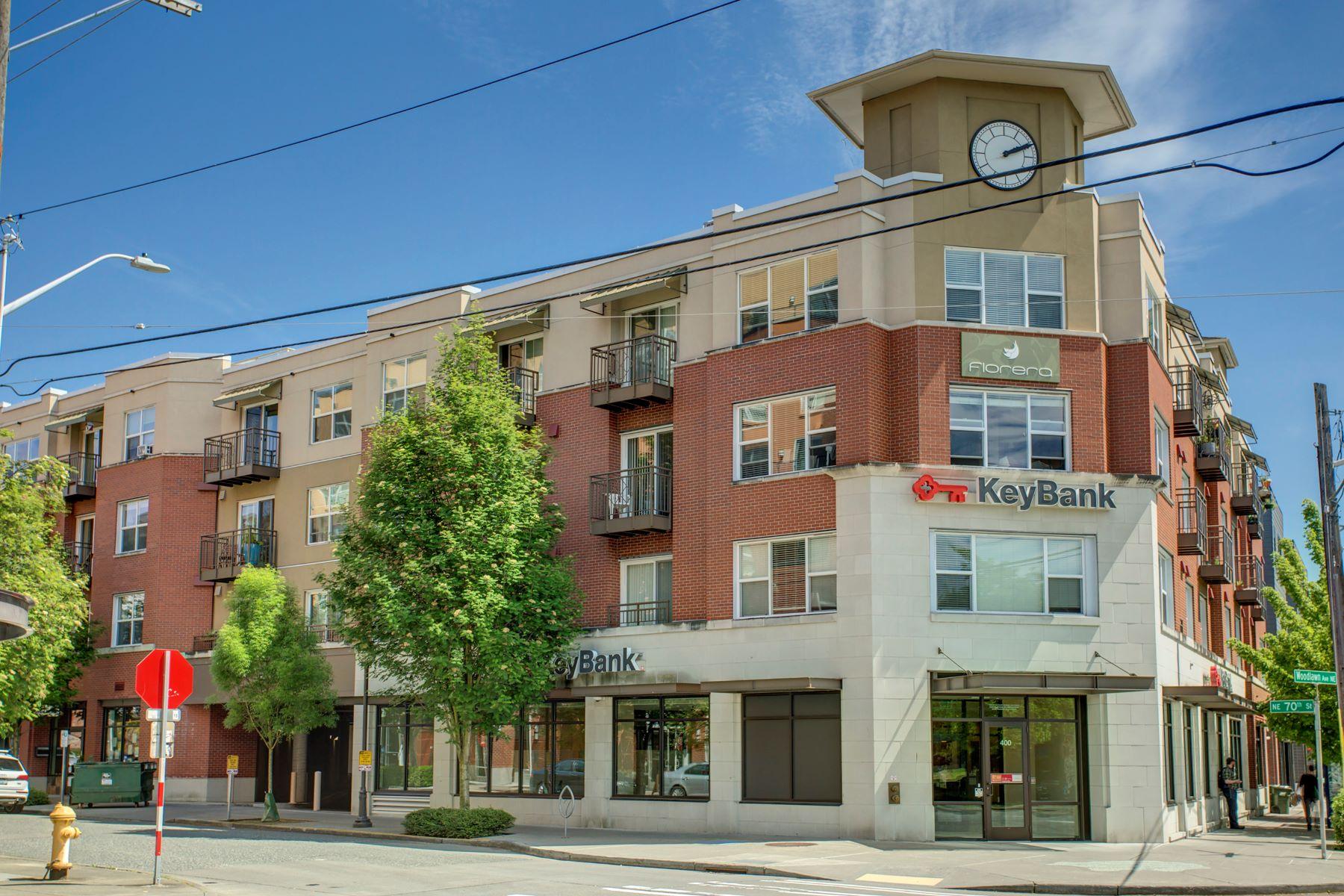 Кондоминиум для того Продажа на 413 NE 70th St #203 Seattle, Вашингтон 98115 Соединенные Штаты