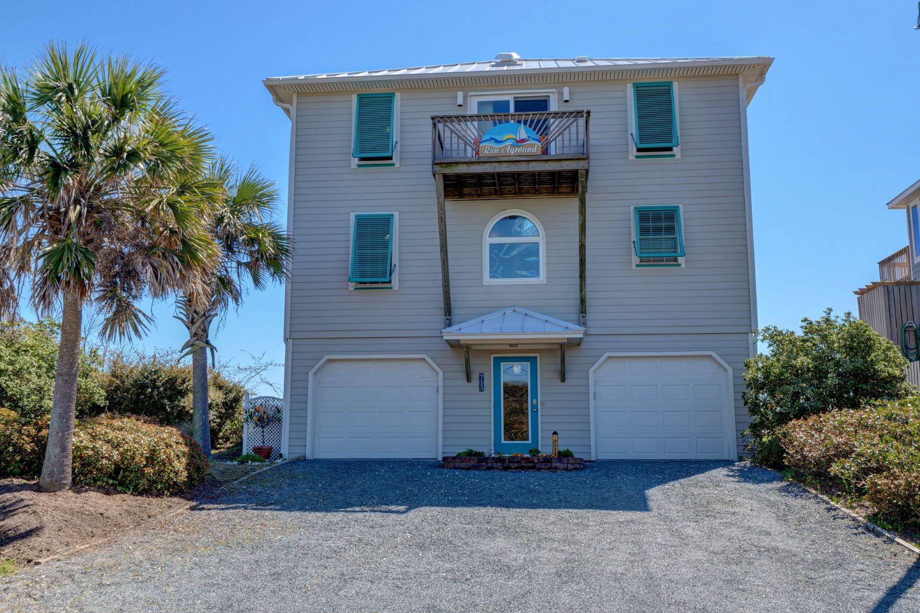 Single Family Homes for Sale at Topsail Oceanfront Home 713 N Anderson Blvd Topsail Beach, North Carolina 28445 United States