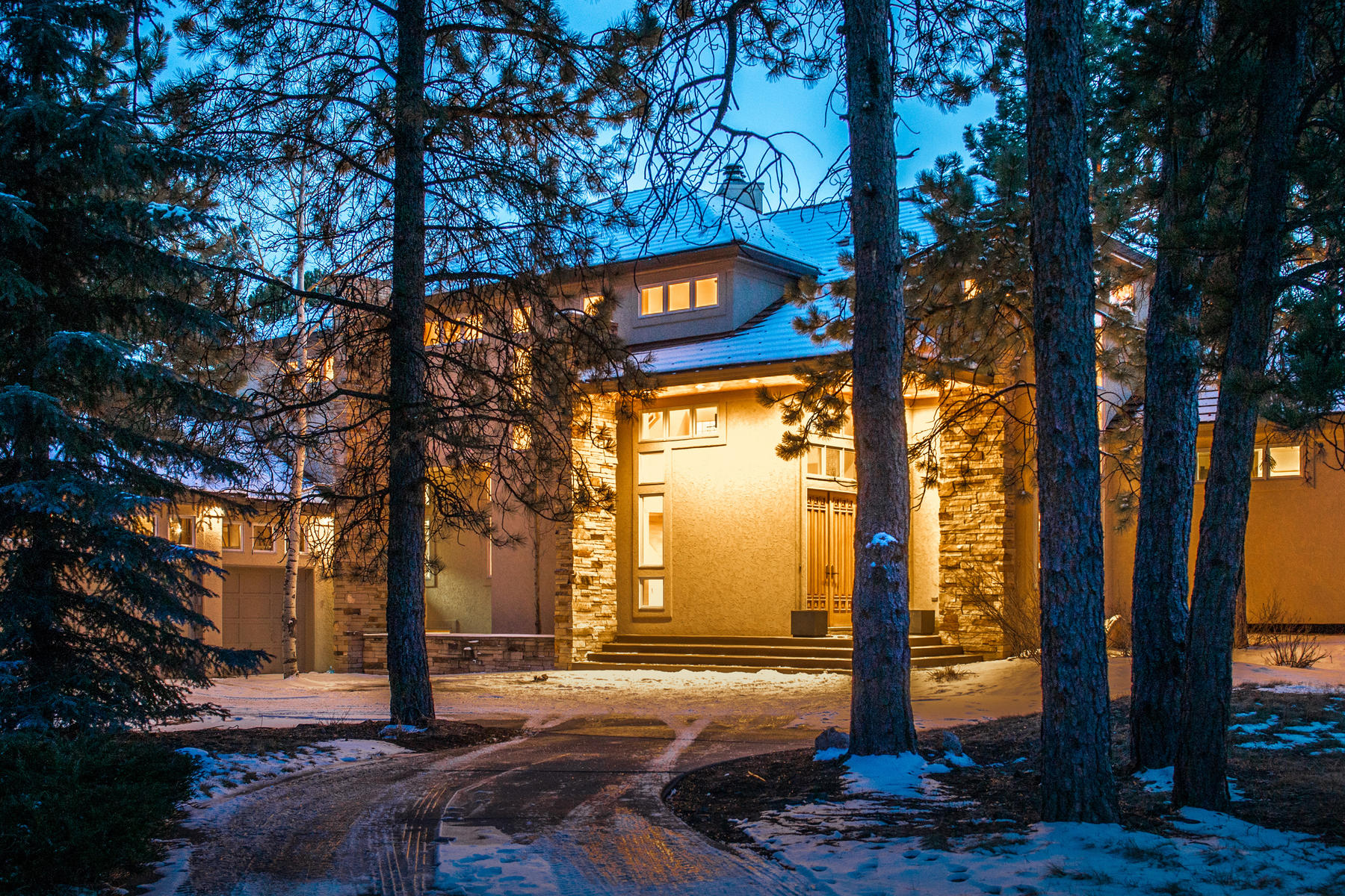 Single Family Home for Active at Unique Contemporary Architecture in Gated, Golf Community 31281 Island Drive Evergreen, Colorado 80439 United States