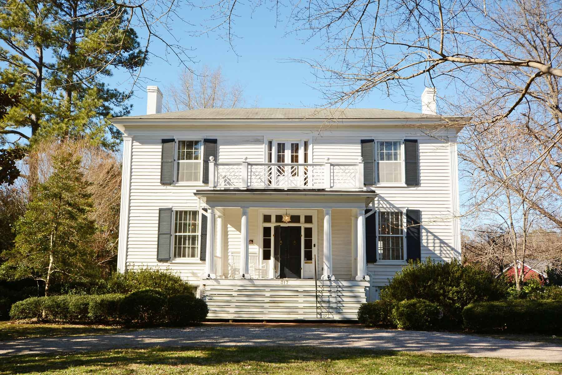 Single Family Home for Active at Green-Parker-Tarwater House 317 N. Main Street Warrenton, North Carolina 27589 United States