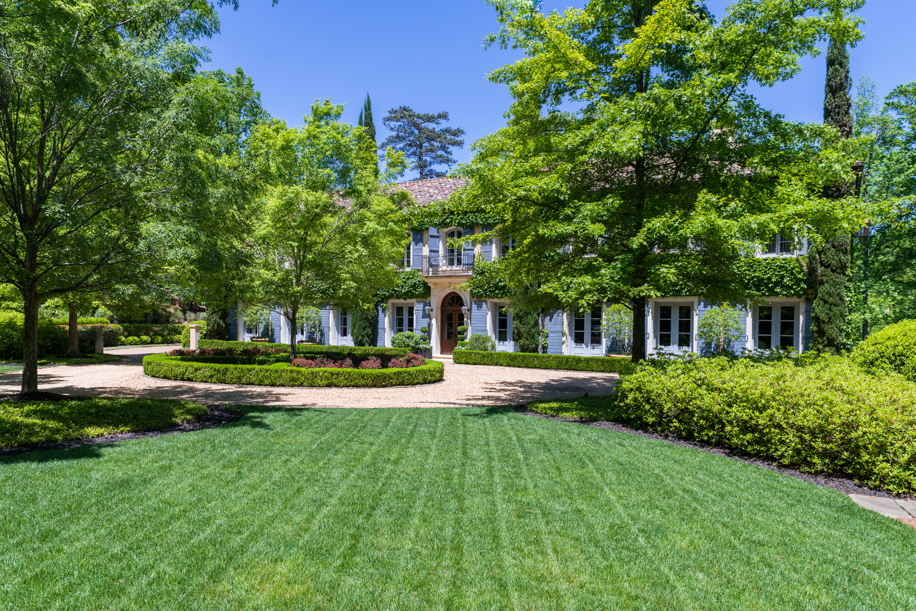 Single Family Home for Sale at Elegant Gated 2.2 Acre Property On Quiet Street In Buckhead 1845 River Forest Road NW Atlanta, Georgia 30327 United States