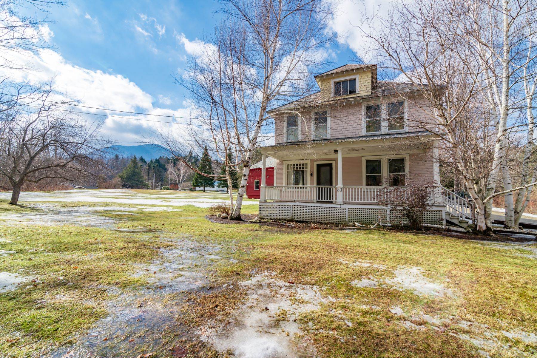 single family homes for Sale at Charming Updated Greek Revival 83 N. Main St. St Danby, Vermont 05739 United States