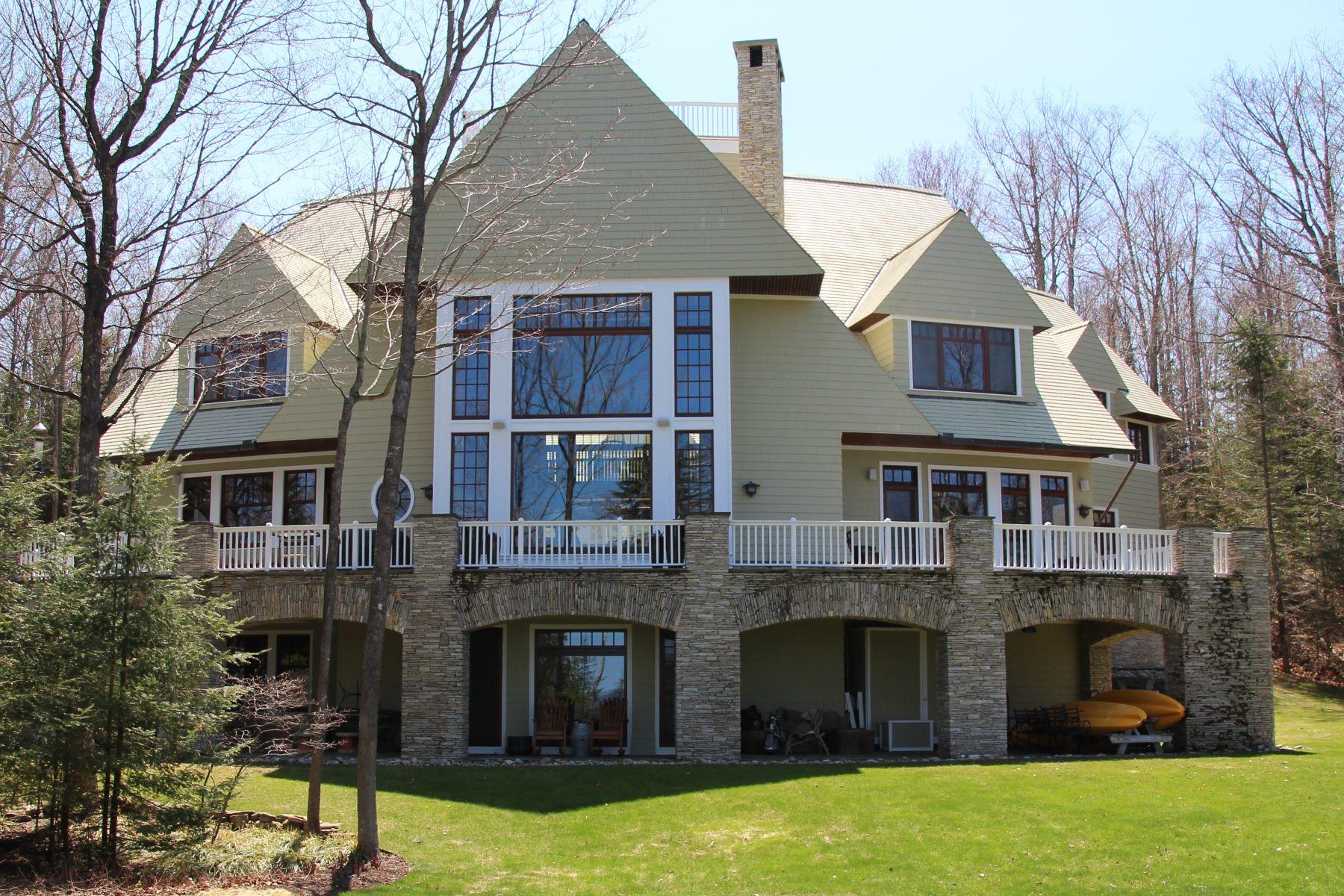 Single Family Homes 为 销售 在 Northaven Lake Michigan Estate 6744 Preserve Drive North 巴尔港, 密歇根州 49770 美国