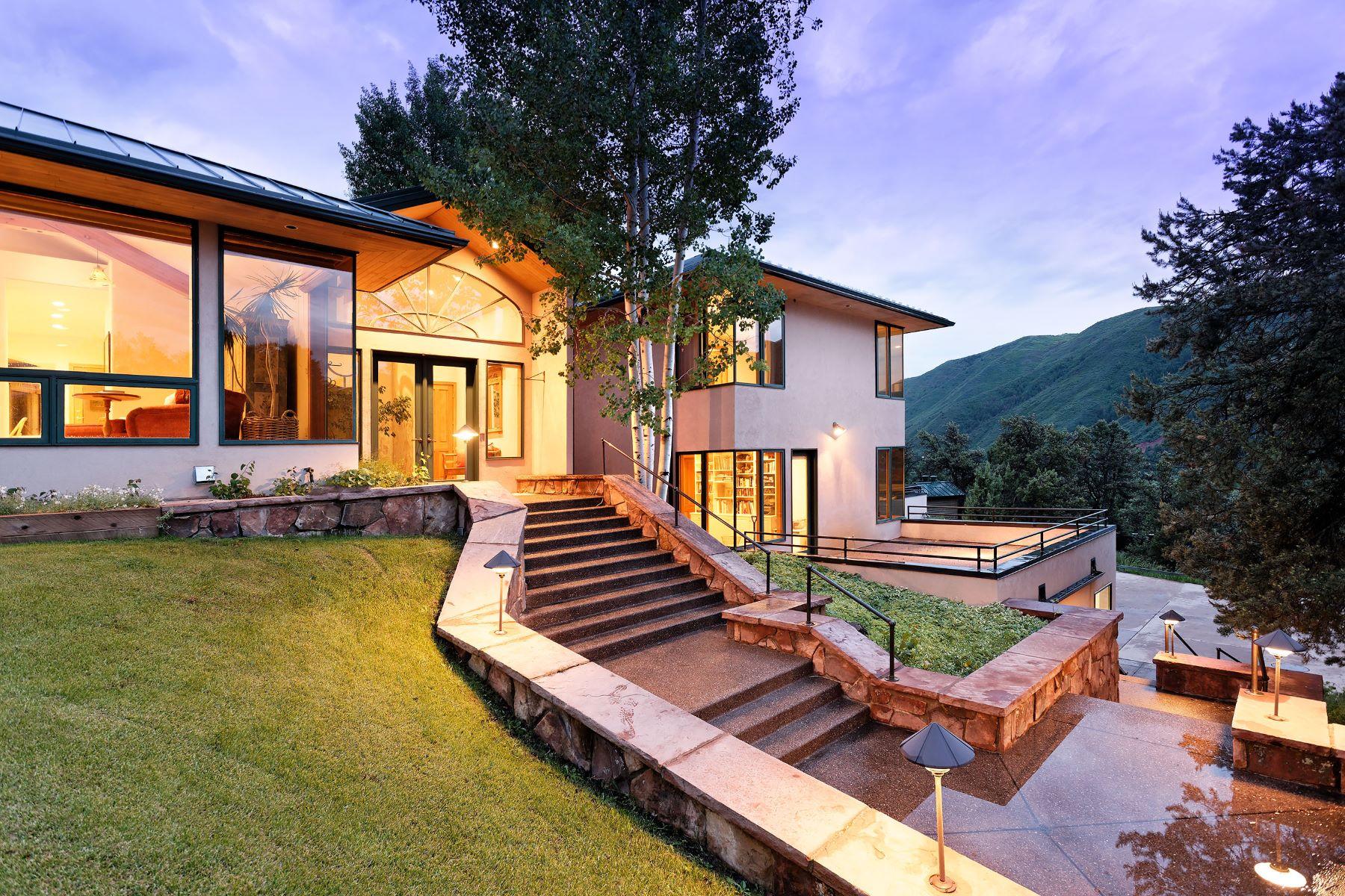 Single Family Homes para Venda às DL/LS 571 Booth Lane, Basalt, Colorado 81621 Estados Unidos
