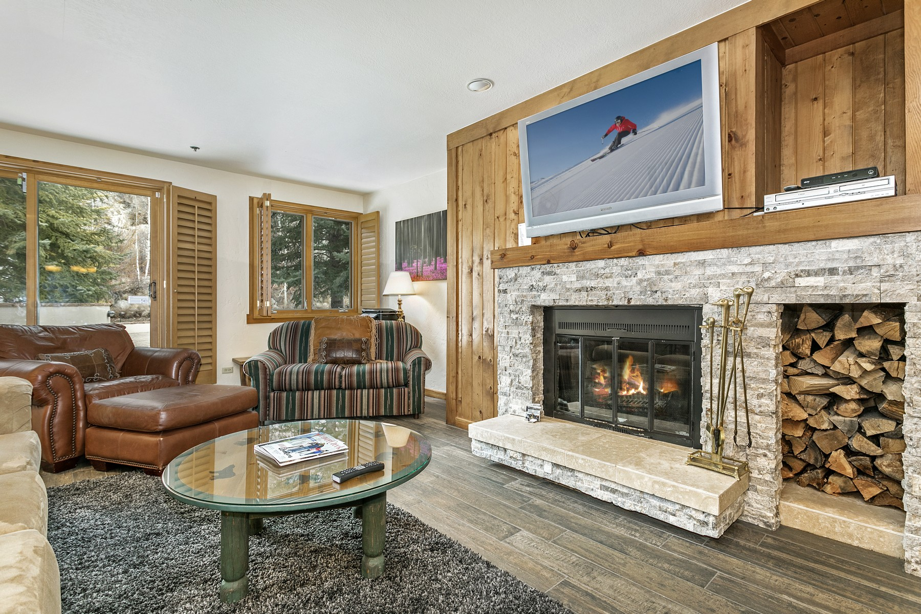Condominium for Active at Turn-Key Beaver Creek Condo Overlooking Pool Deck 311 Offerson Road 234 Beaver Creek, Colorado 81620 United States