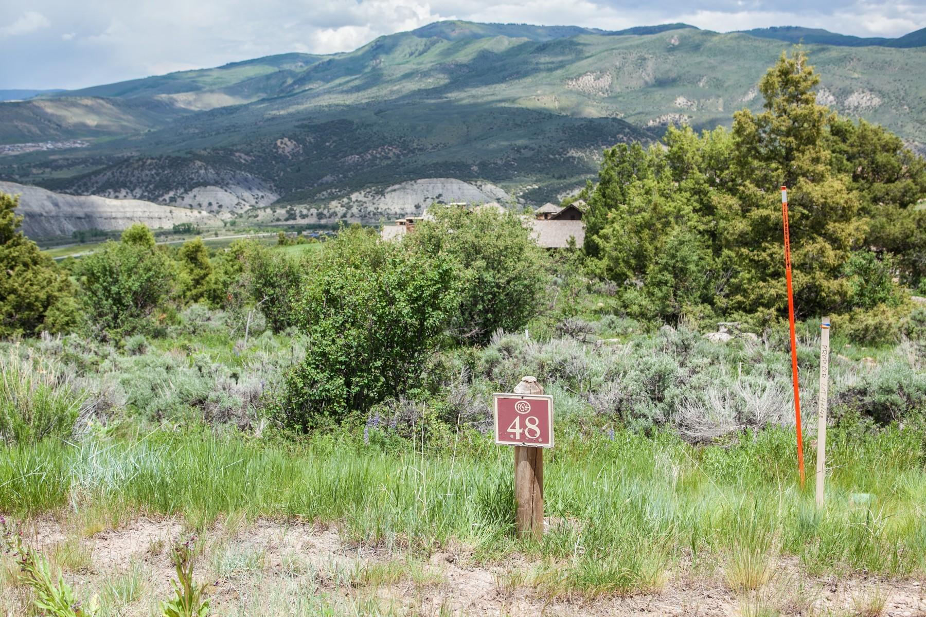 Terrain pour l Vente à Red Sky Ranch Homesite 214 Juniper Trail, Wolcott, Colorado 81655 États-Unis