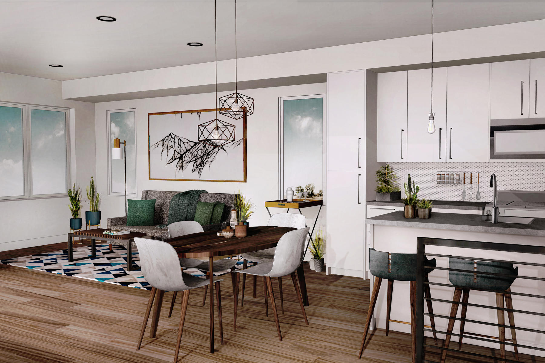 townhouses для того Продажа на New Townhomes in SoBo! 3372 S Pearl Street Unit #A, Englewood, Колорадо 80113 Соединенные Штаты