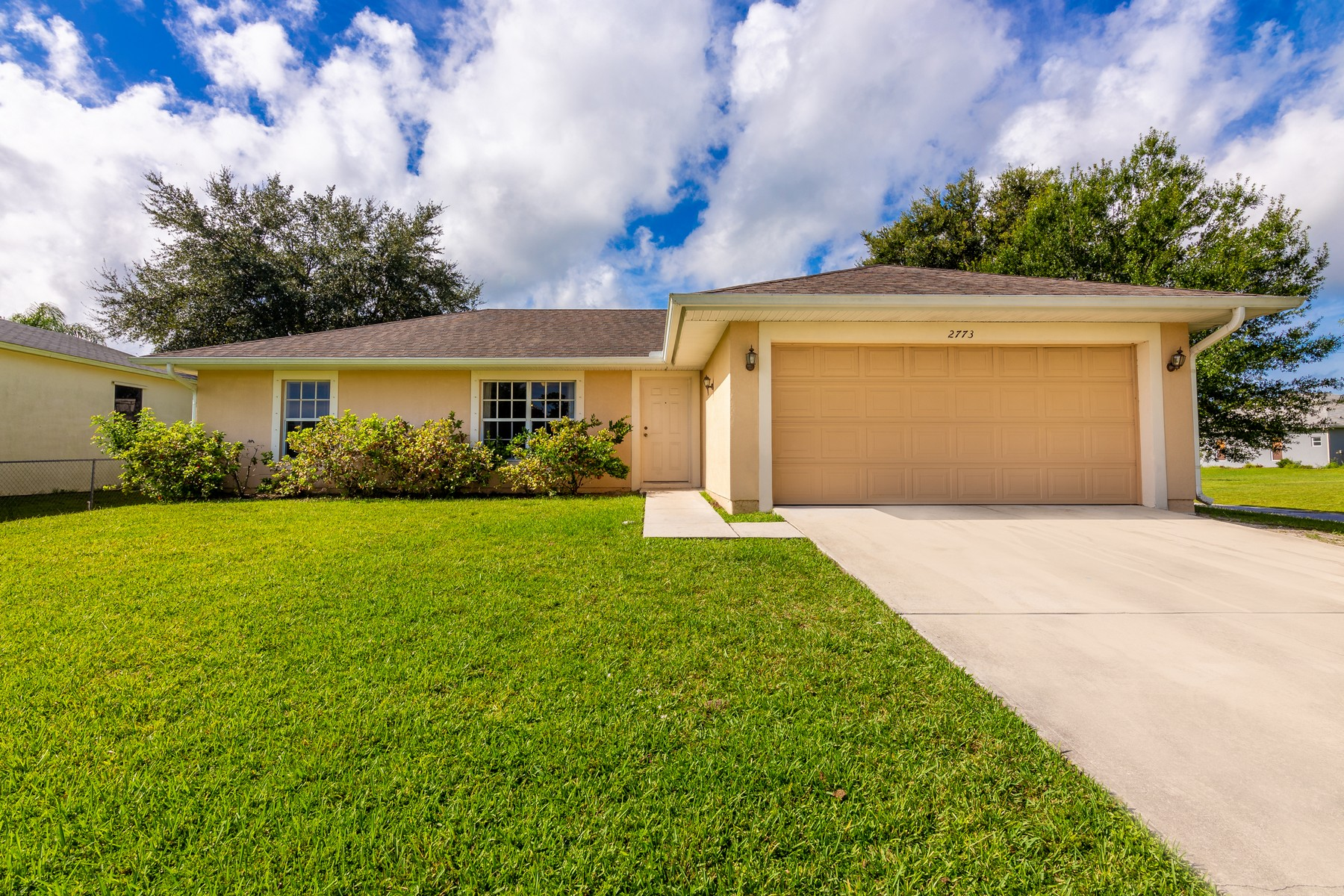 Single Family Homes for Sale at Live the Florida Dream! 2773 San Filippo Dr SE Palm Bay, Florida 32909 United States