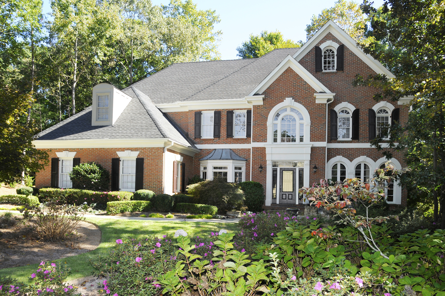 Single Family Home for Sale at Beautiful Brick Home In St Ives 708 Henley Fields Circle Johns Creek, Georgia 30097 United States