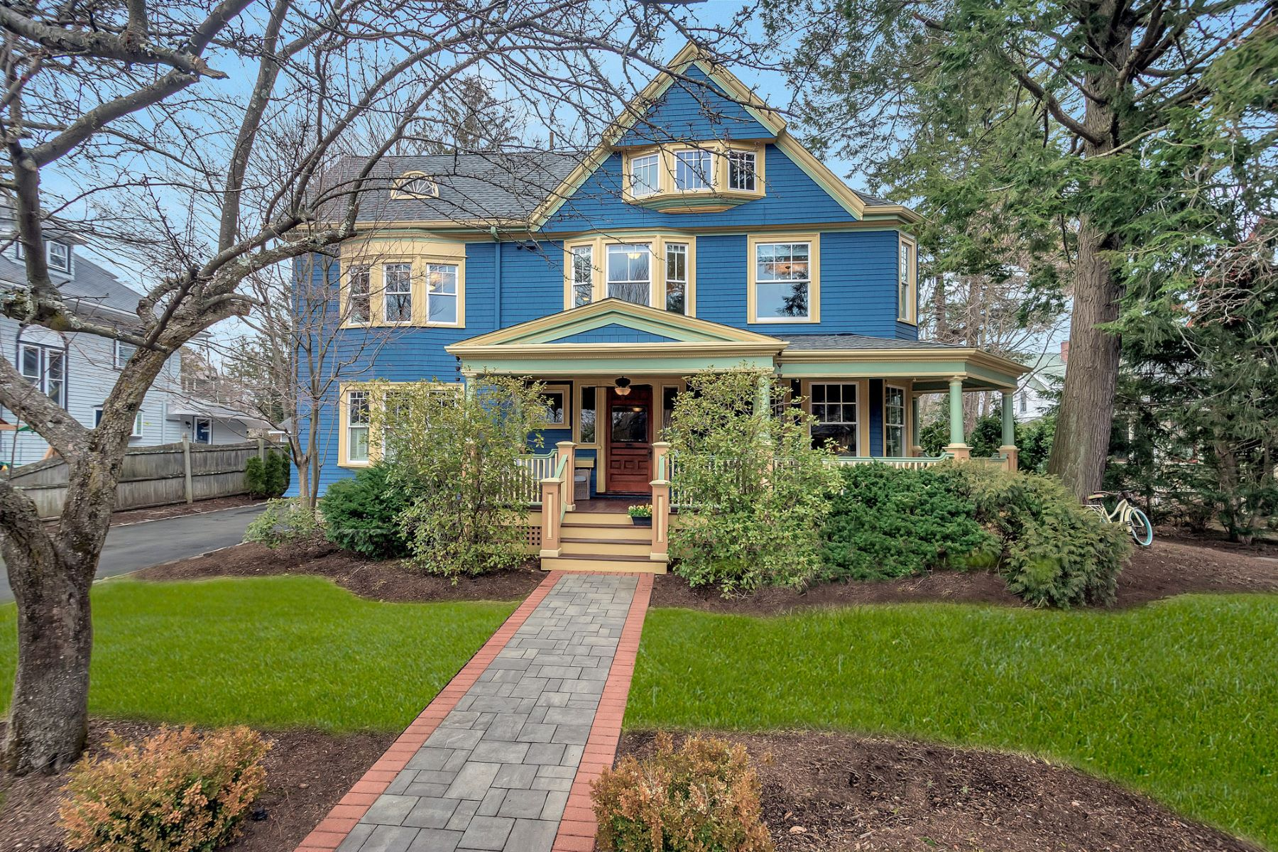 Single Family Home for Active at 26 Orient Avenue Newton, Massachusetts 02459 United States