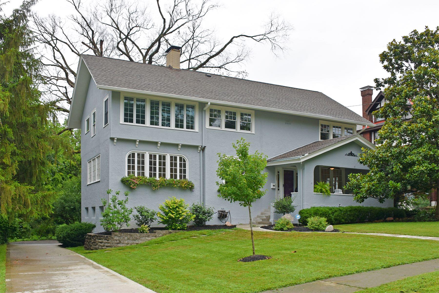 Single Family Homes 为 销售 在 Sophisticated Hyde Park Living 2346 East Hill Ave. 辛辛那提, 俄亥俄州 45208 美国