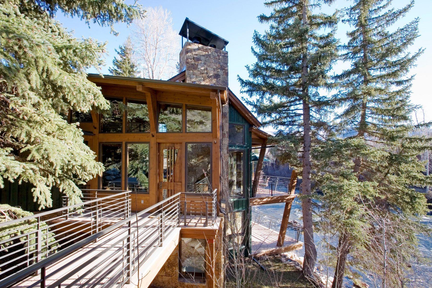 Single Family Homes のために 売買 アット 4076 Lower River Road Snowmass, コロラド 81654 アメリカ