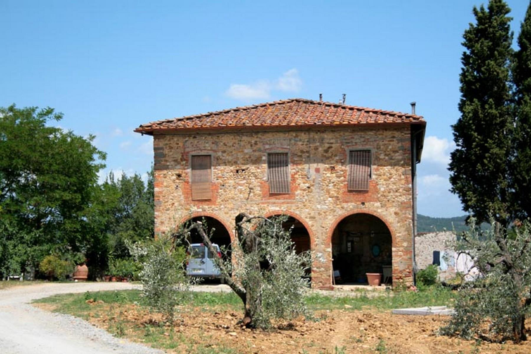 Farm / Ranch / Plantation for Sale at Tuscan farm in Chianti region Pisignano San Casciano In Val Di Pesa, Florence 50026 Italy