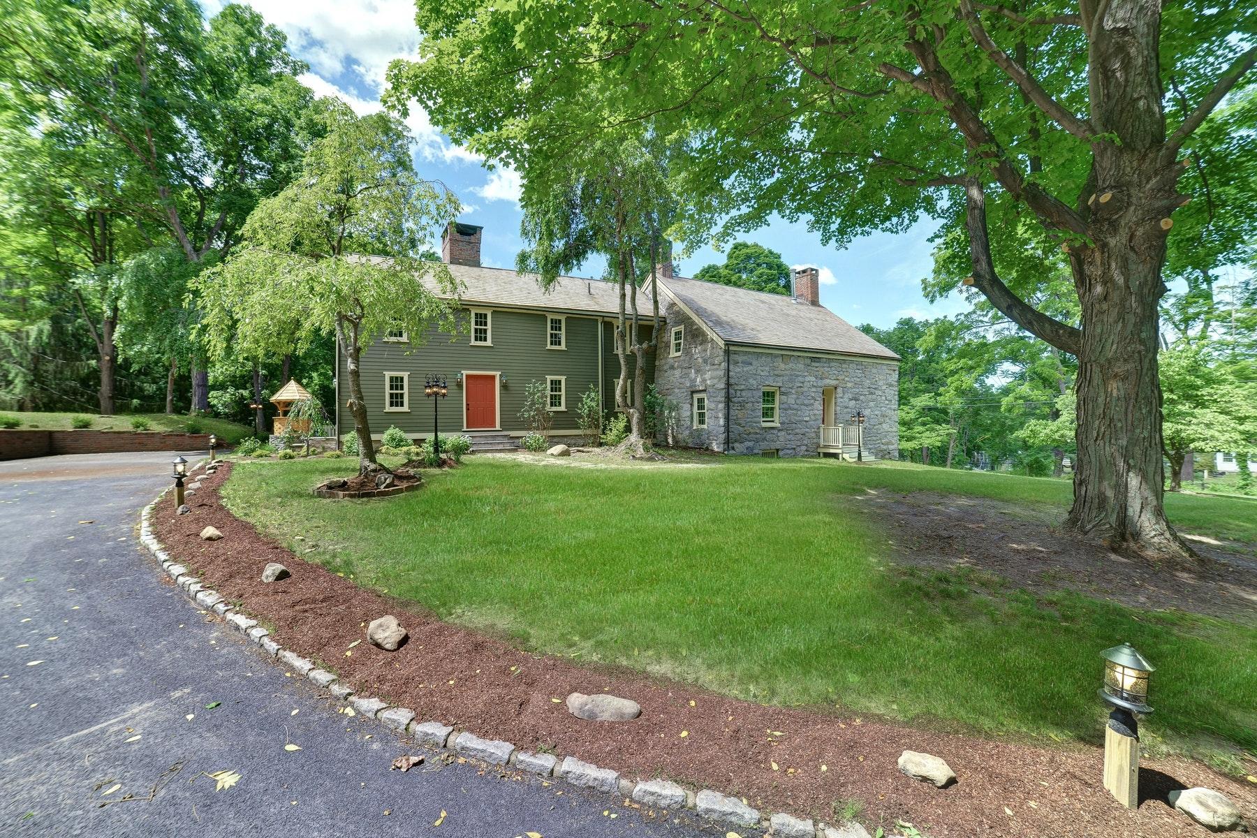 Casa Unifamiliar por un Venta en Revolution Era Antique Home 212 Bellvale Lakes Road Warwick, Nueva York 10990 Estados Unidos