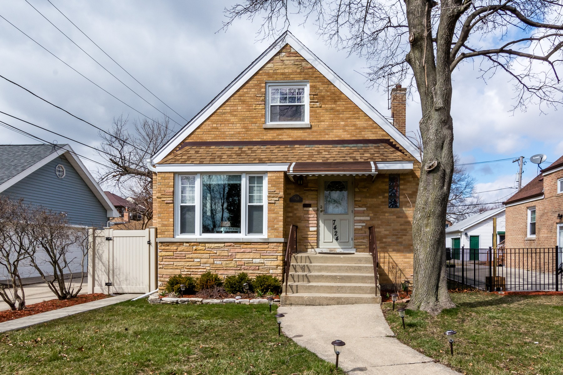 Single Family Home for Sale at Rehabbed Home on Corner Lot 7424 W Everell Avenue, Norwood Park, Chicago, Illinois, 60631 United States
