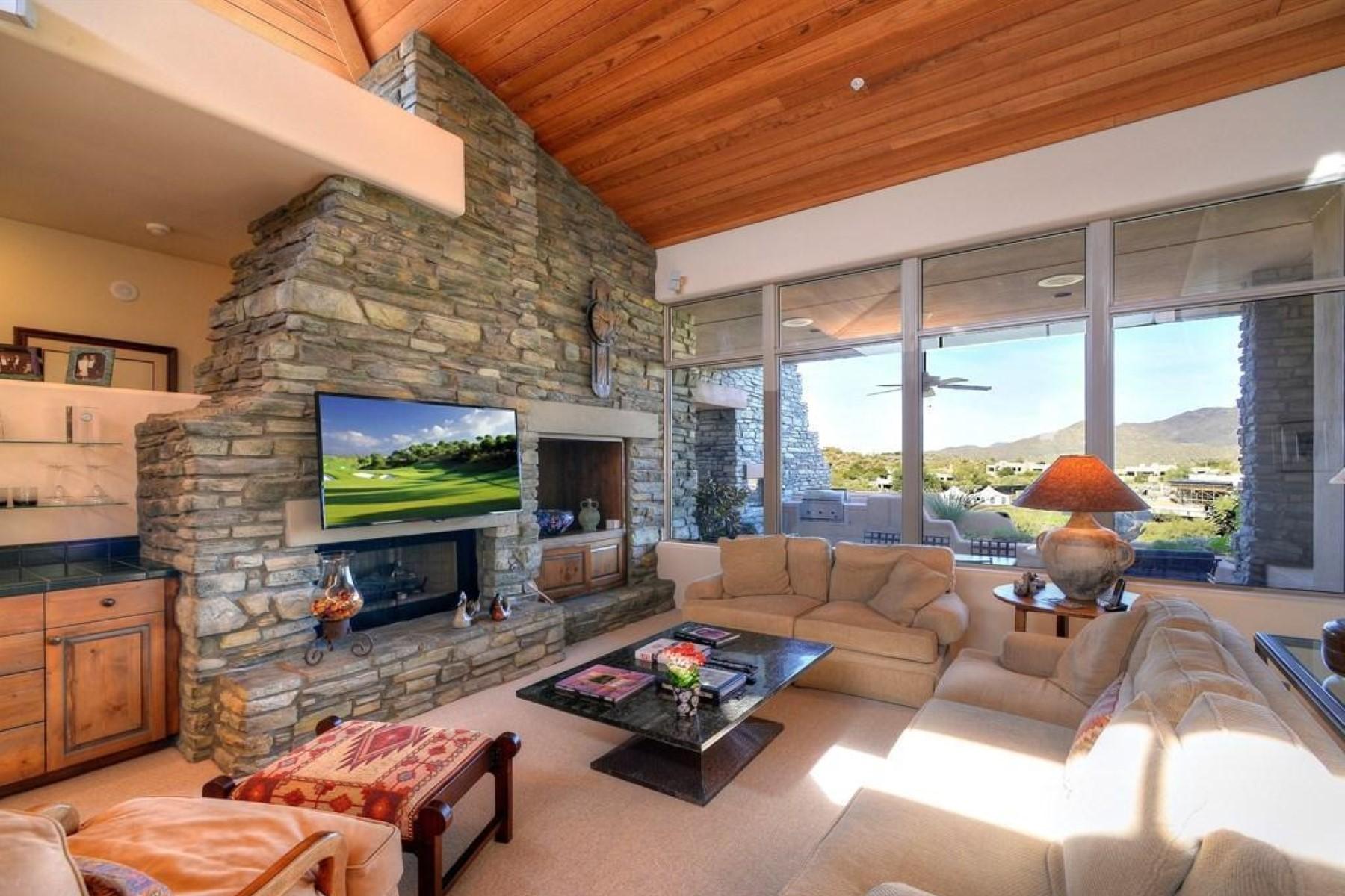 Single Family Home for Sale at Village of Sonoran Ridge 10148 E Old Trail Rd, Scottsdale, Arizona, 85262 United States
