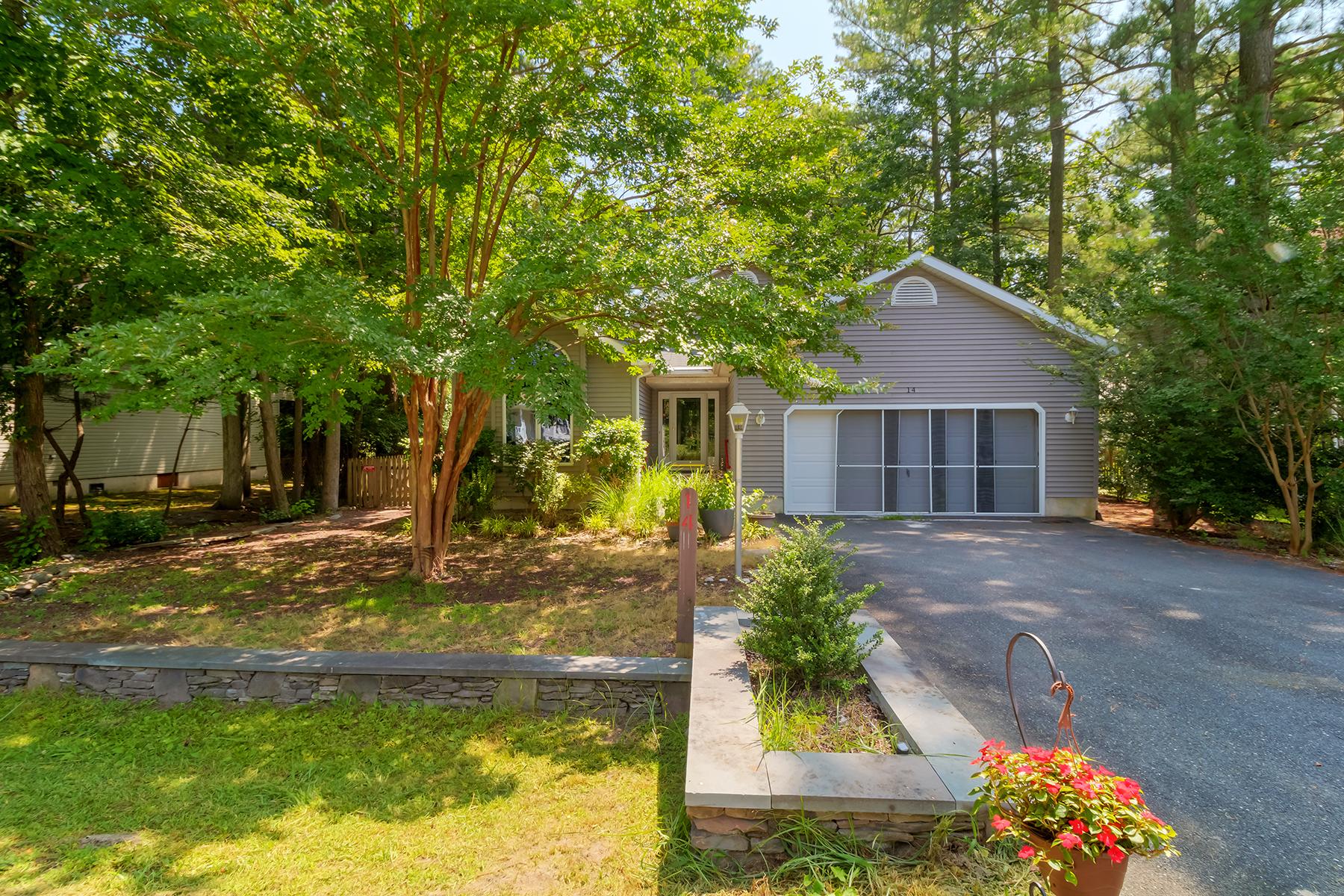 Single Family Homes por un Venta en 14 Mist Flower Road Berlin, Maryland 21811 Estados Unidos