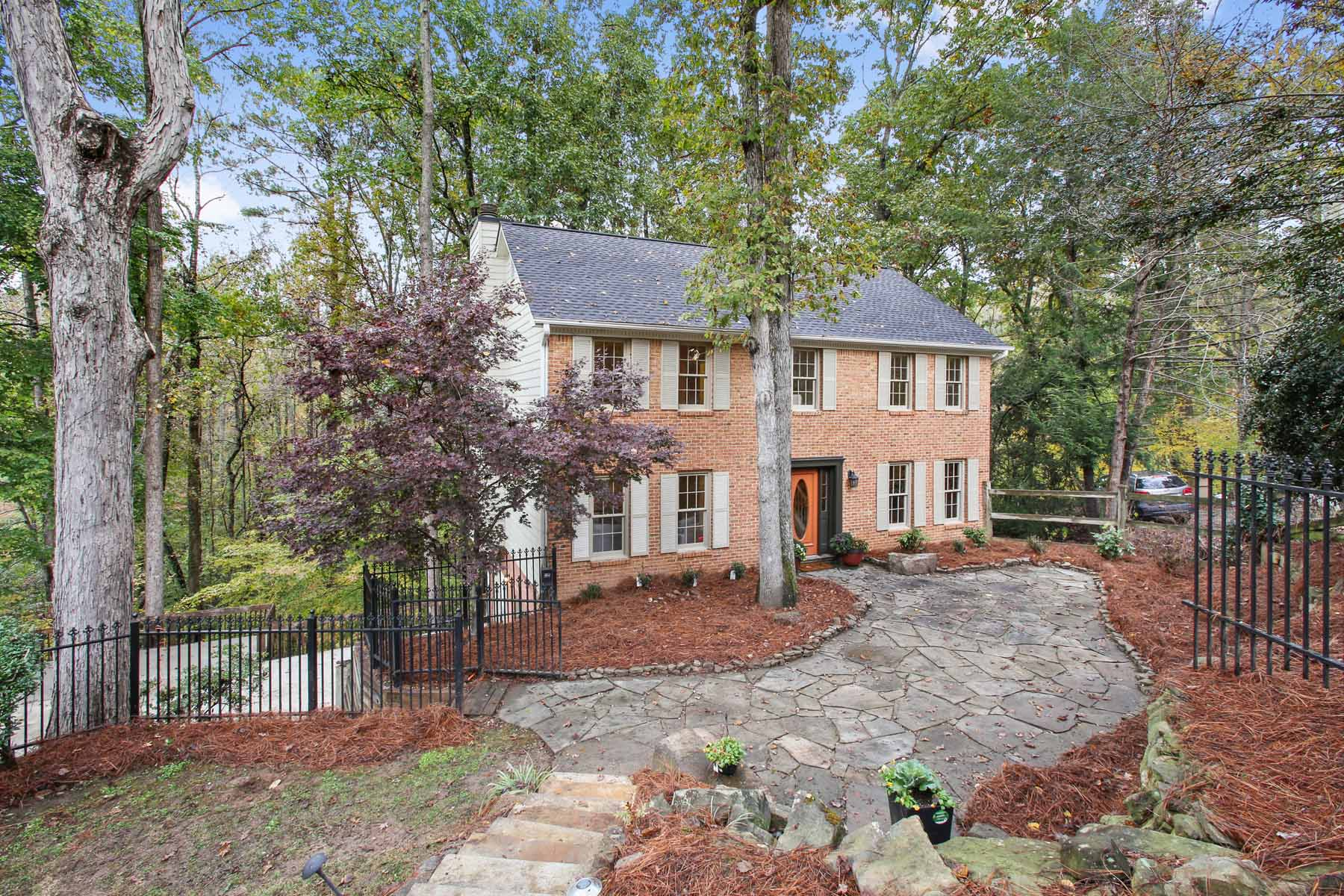 Single Family Home for Sale at Gorgeous Renovated Brick Traditional nestled On A Prime Cul-de-sac Lot! 3879 Wintergreen Ct Marietta, Georgia 30062 United States