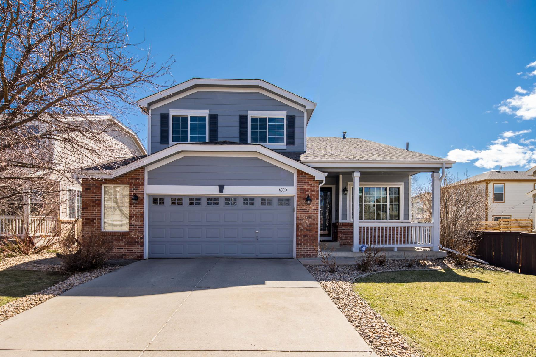 Single Family Homes のために 売買 アット Welcome To Your Future Home In The Broadlands 4520 Lexi Cir Broomfield, コロラド 80023 アメリカ