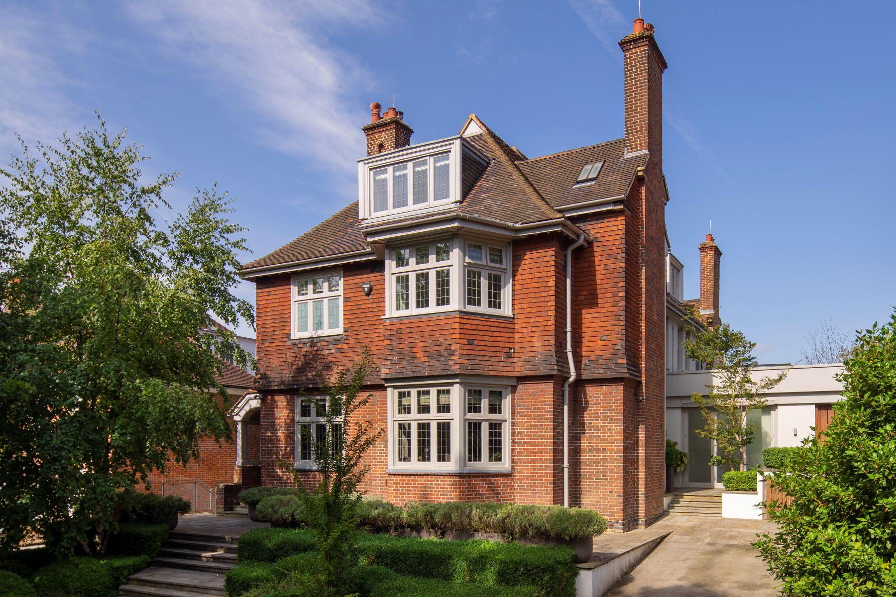Single Family Home for Sale at Oakhill Avenue, Hampstead 12 Oakhill Avenue London, England NW3 7RE United Kingdom