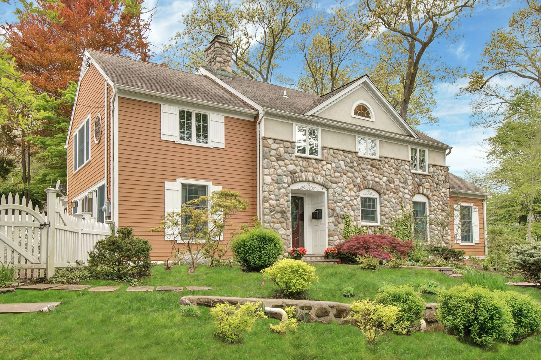 Single Family Home for Sale at Magnificant Westside Colonial. 70 North Hillside Place Ridgewood, 07450 United States