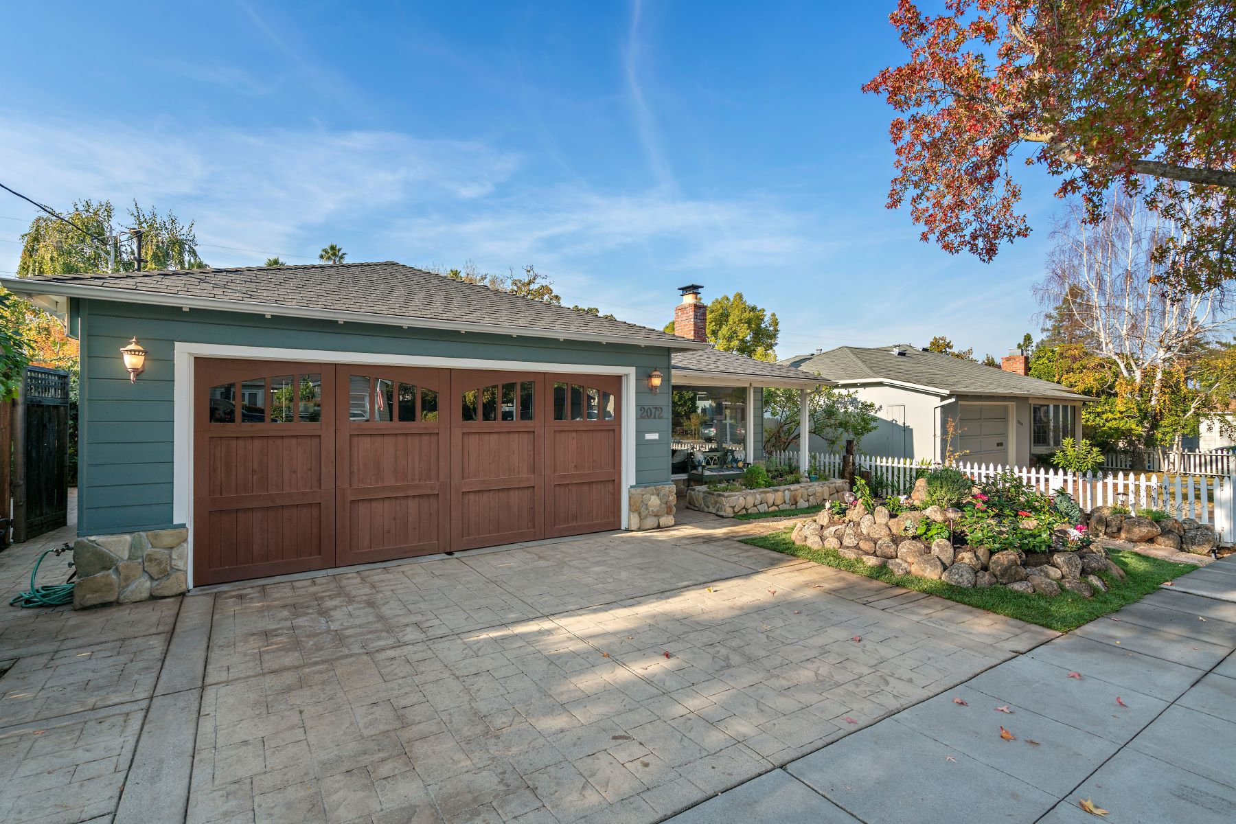 Single Family Homes for Sale at Refined Ranch-Style Charmer 2072 Brittan Avenue San Carlos, California 94070 United States