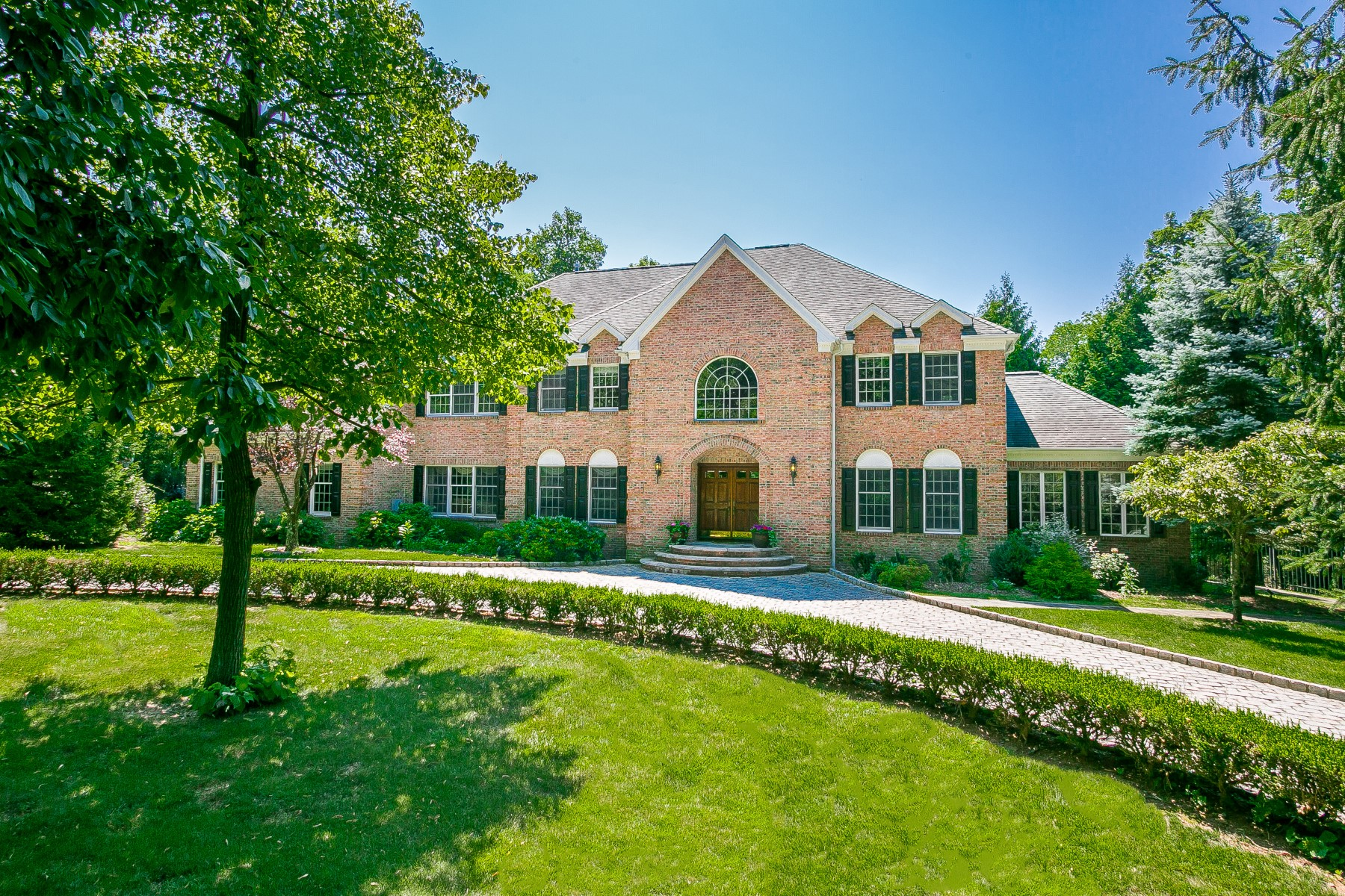 House for Sale at Desirable Cul-de-sac Location 14 Charlotte Hill Drive Bernardsville, New Jersey 07924 United States