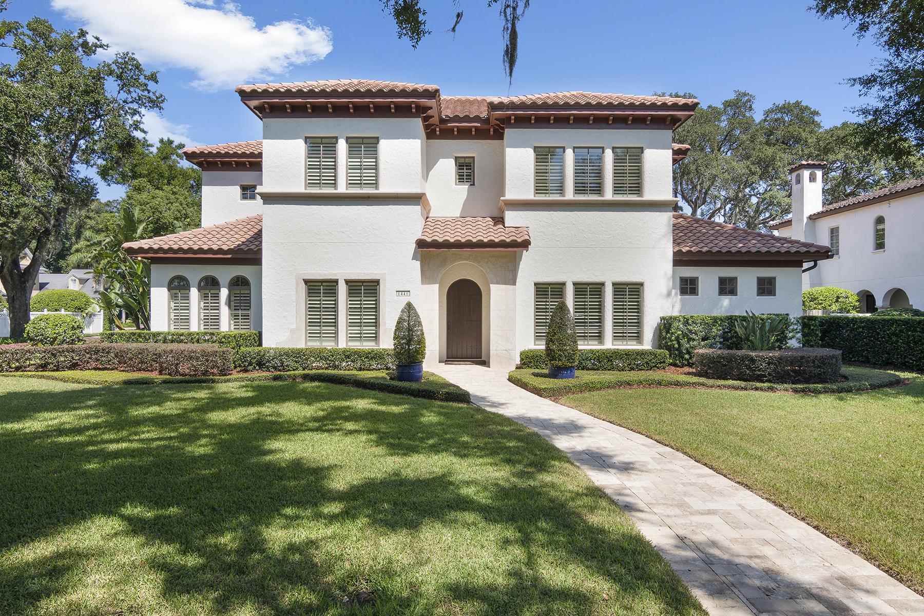 Single Family Homes por un Venta en WINTER PARK 1441 Place Picardy, Winter Park, Florida 32789 Estados Unidos
