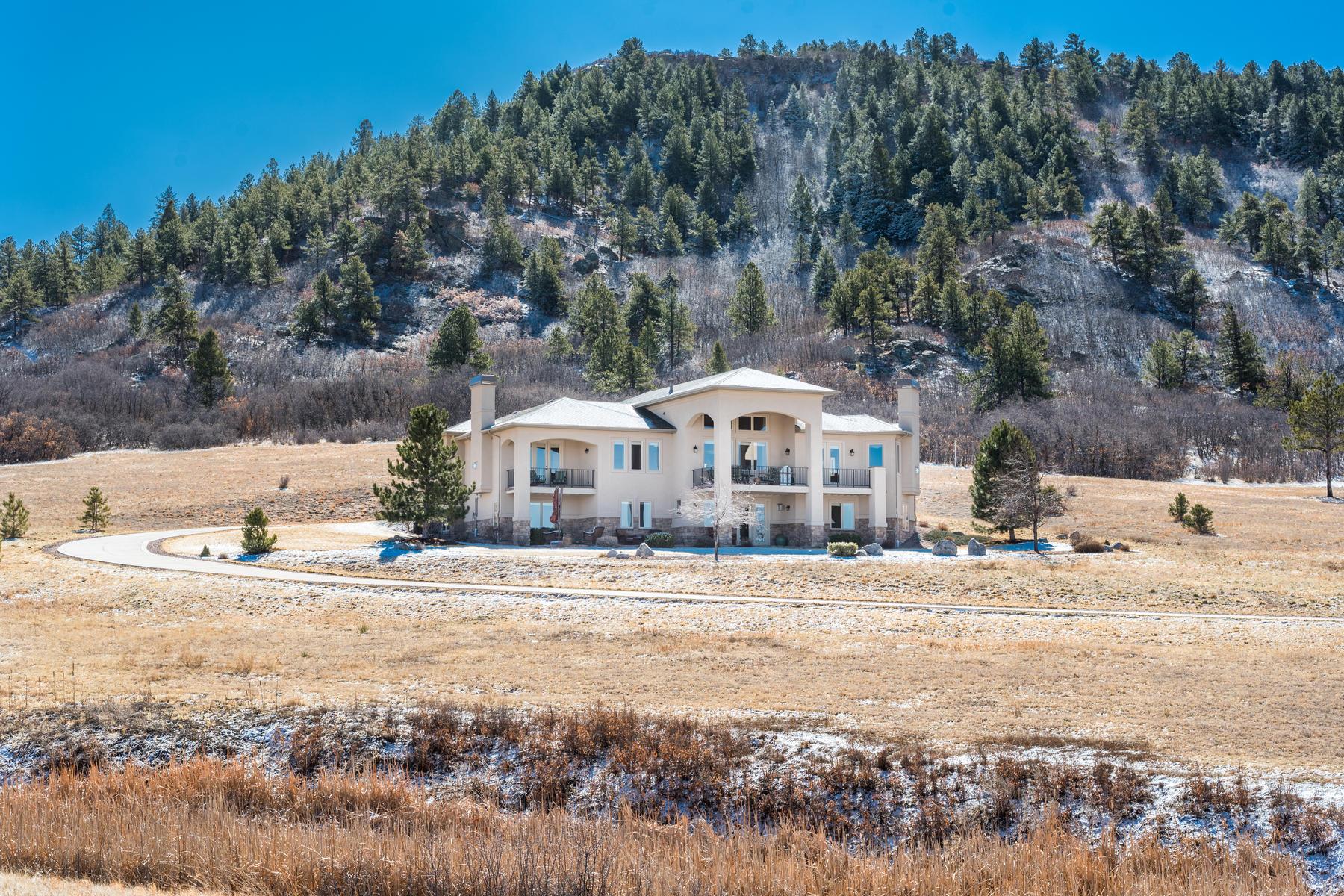 Частный односемейный дом для того Продажа на 628 Young Cir Bell Mountain Ranch, Castle Rock, Колорадо, 80104 Соединенные Штаты
