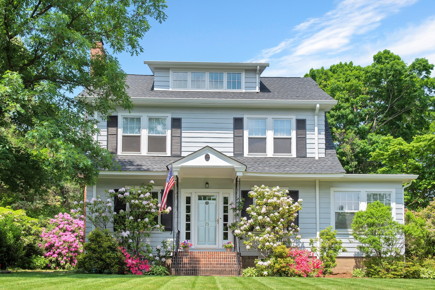 Single Family Home for Sale at Classic Glen Ridge Center Hall Colonial 73 Oxford Street, Glen Ridge, New Jersey 07028 United States