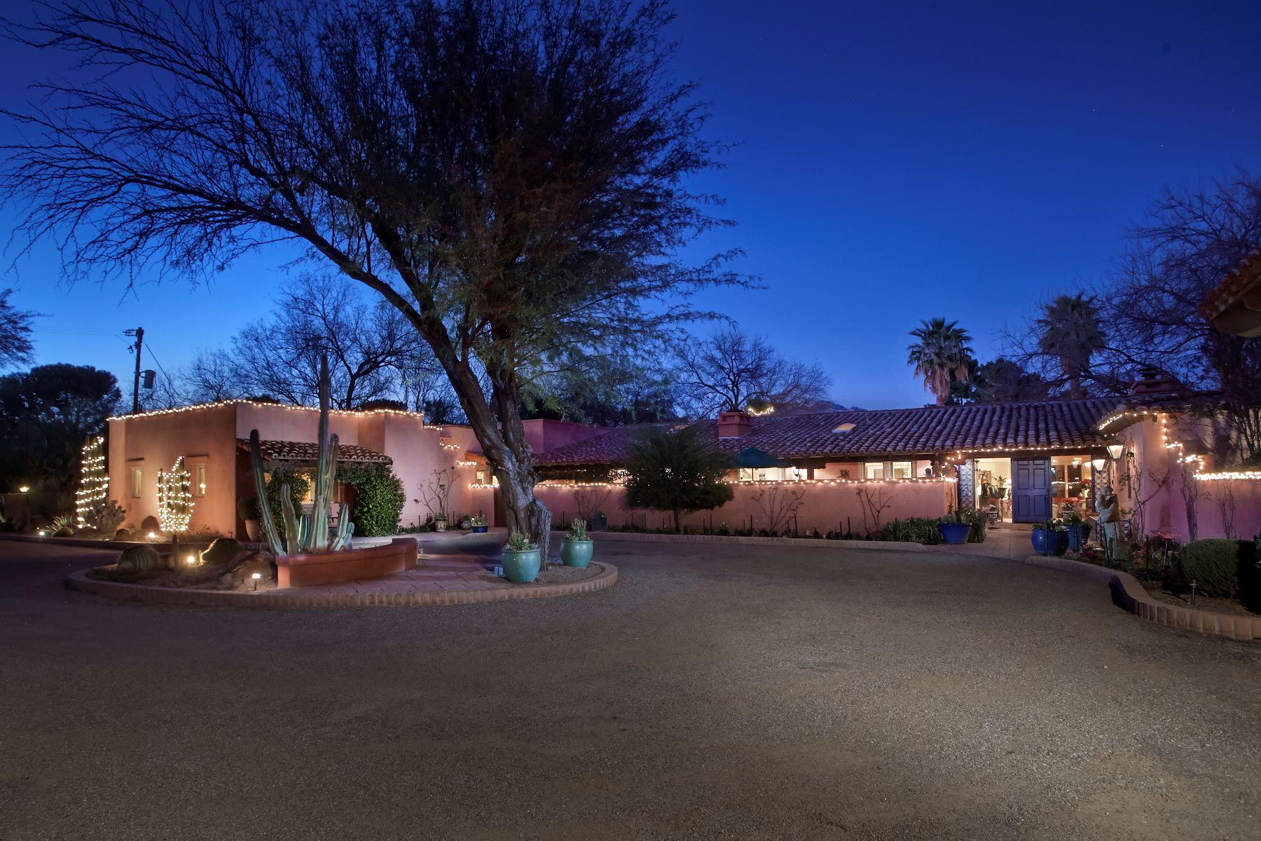 Single Family Homes 为 销售 在 Country Club Estates 2850 N. Santa Ynez Place 图森, 亚利桑那州 85715 美国