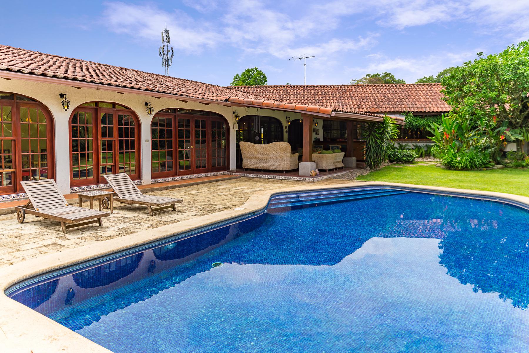 Single Family Homes for Sale at Casa Zula Escazu, San Jose Costa Rica