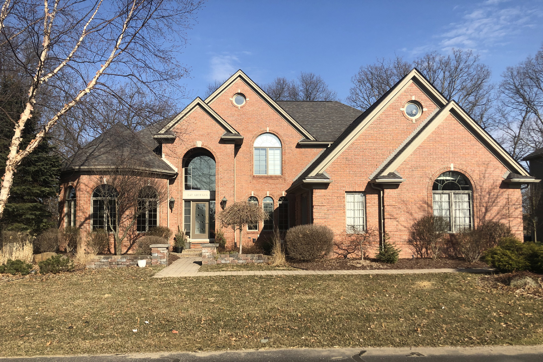 Single Family Homes for Sale at Orion Township 247 Greenan Lane Orion Township, Michigan 48362 United States