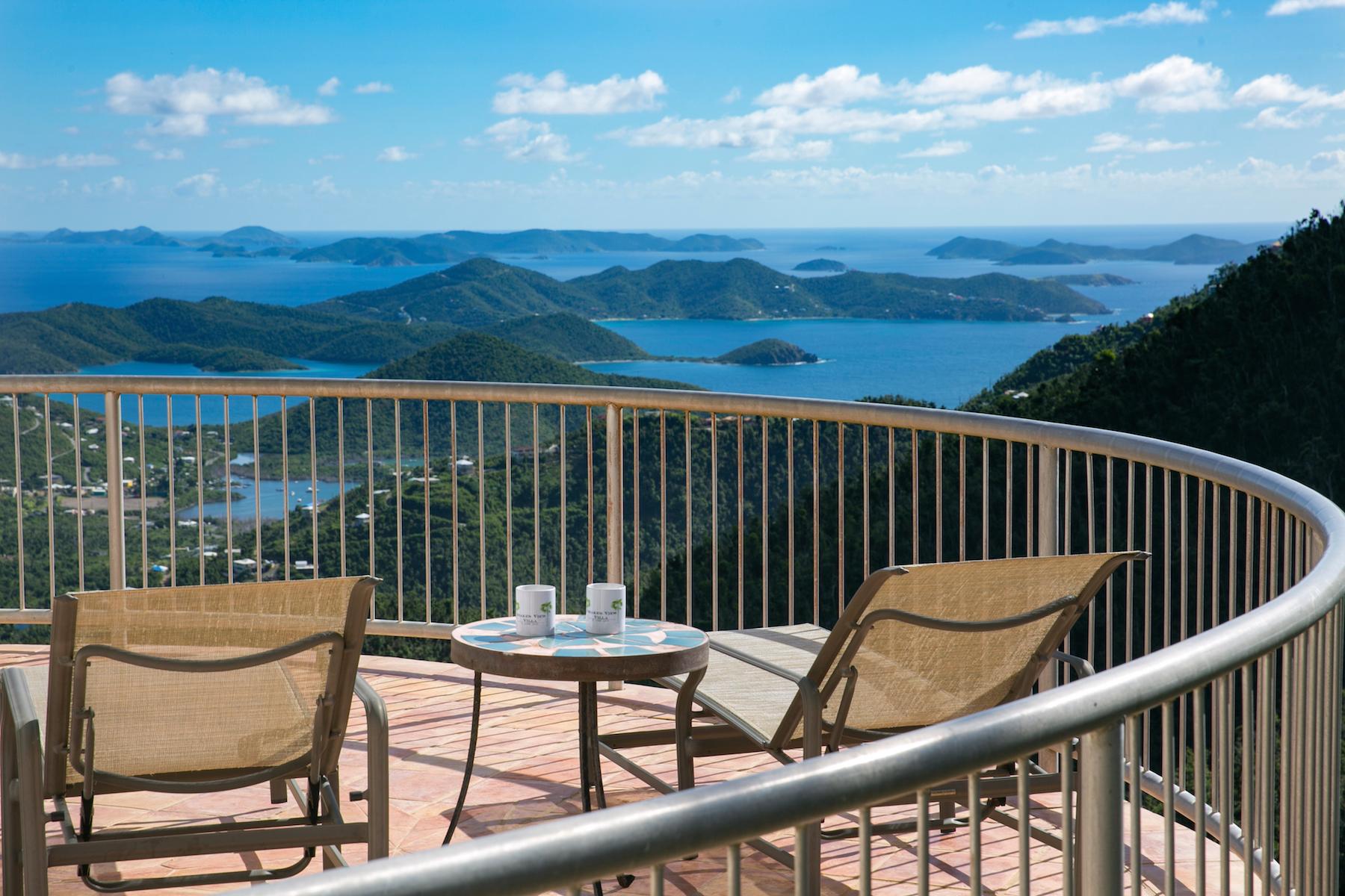 Single Family Homes por un Venta en Drake's View 9-25 Estate Carolina St John, Virgin Islands 00830 Islas Virgenes Ee.Uu.