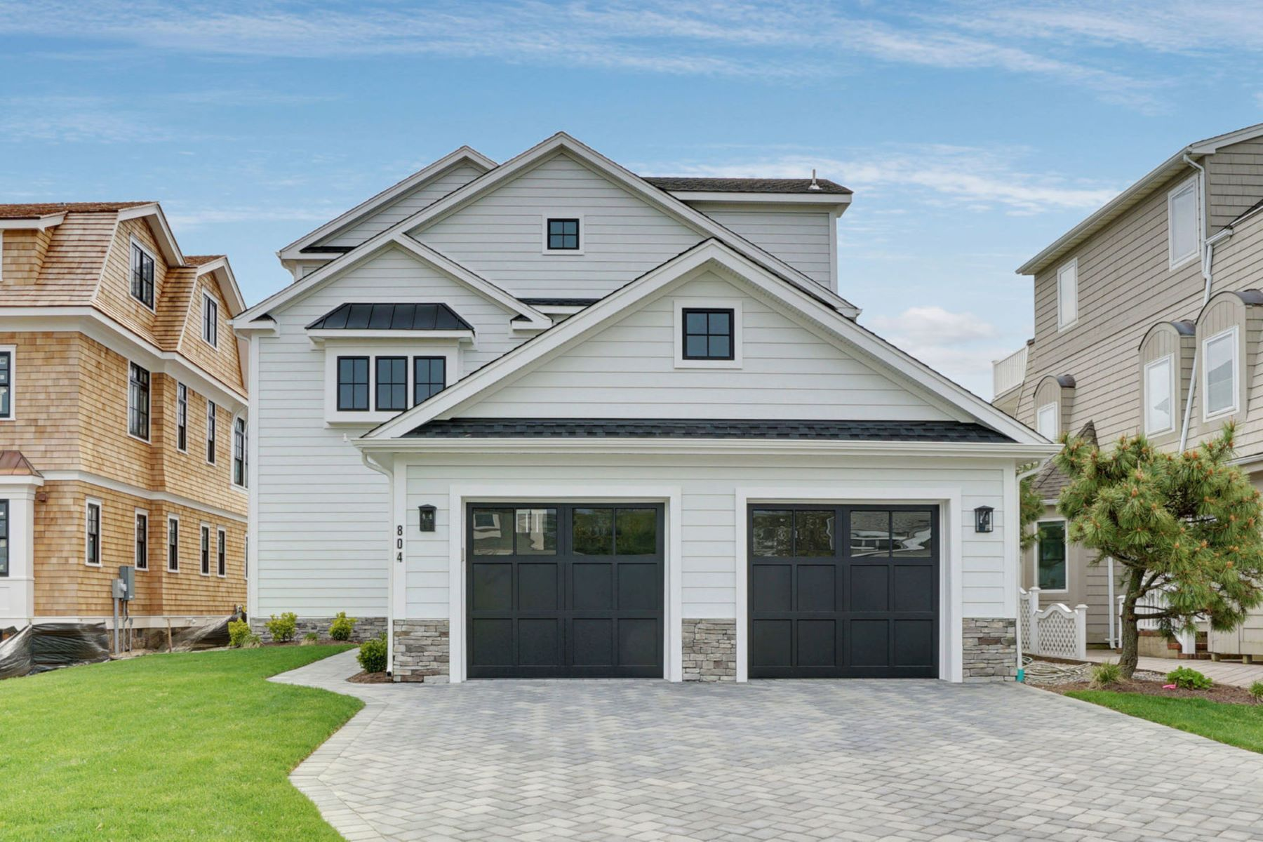 single family homes для того Продажа на Seaside Escape 804 First Avenue, Sea Girt, Нью-Джерси 08750 Соединенные Штаты