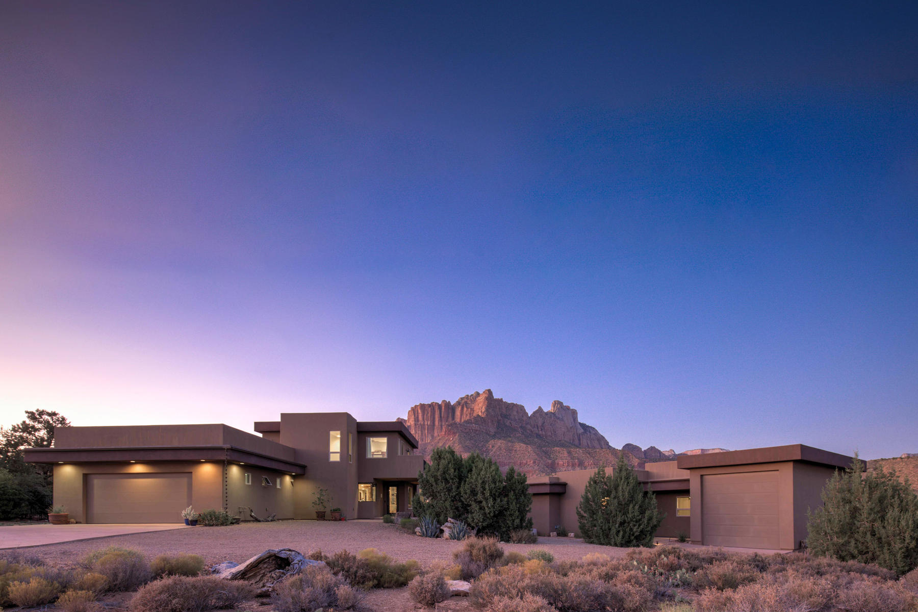 Single Family Homes for Sale at This Home in Zion Has it ALL! 2561 Anasazi Way, Springdale, Utah 84767 United States