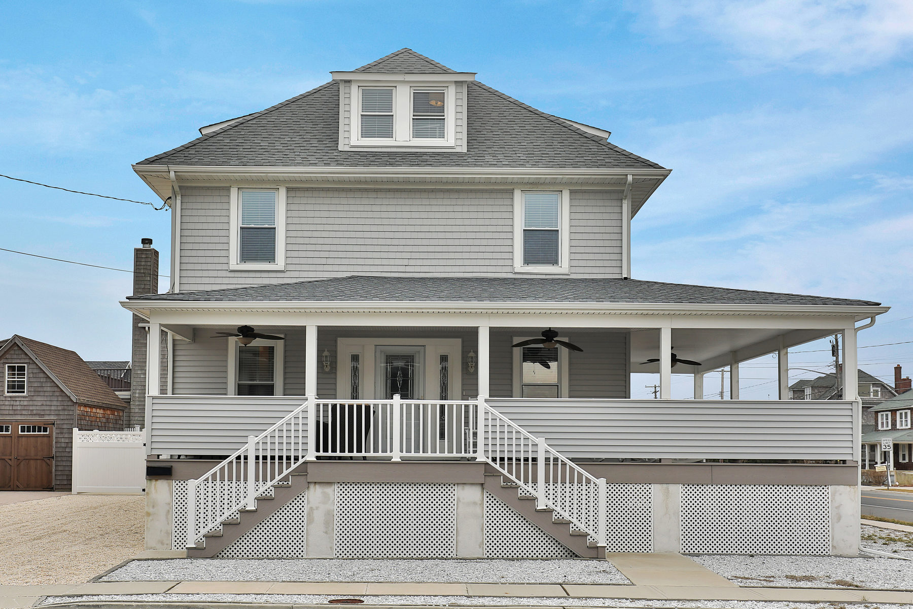 "Single Family Home for Sale at Beautiful Beach Block ""Old Bay Header"" 31 North Street Bay Head, New Jersey 08742 United States"