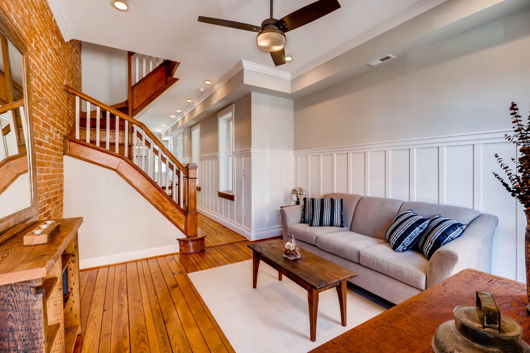 獨棟家庭住宅 為 出售 在 Federal Hill 119 Ostend Street E, Baltimore, 馬里蘭州, 21230 美國