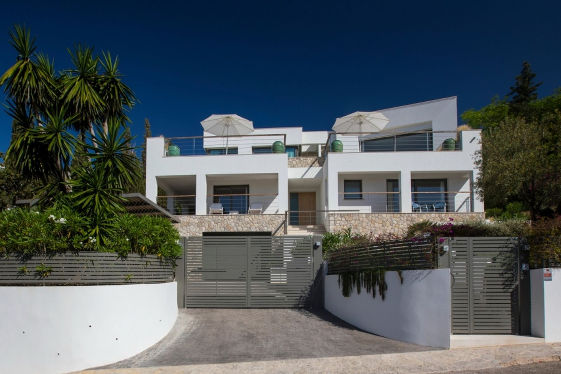 Single Family Home for Sale at Comfortable designer villa with sea view Calvia, Balearic Islands Spain