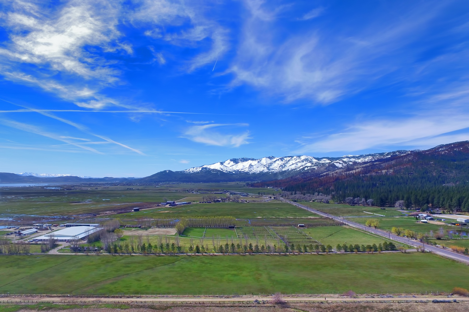 Land for Active at 4110 Old US 395 4110 Old US 395 Washoe Valley, Nevada 89704 United States
