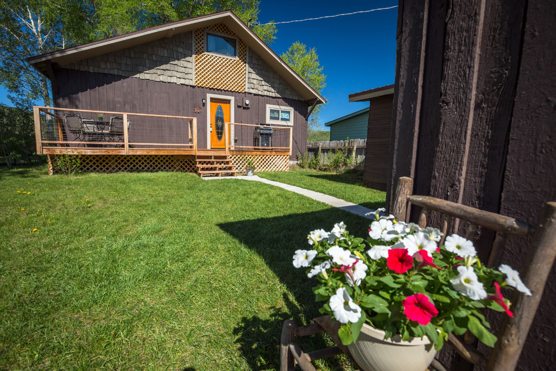 Single Family Homes for Sale at Quiet Country Bungalow 25700 Routt Street Phippsburg, Colorado 80469 United States