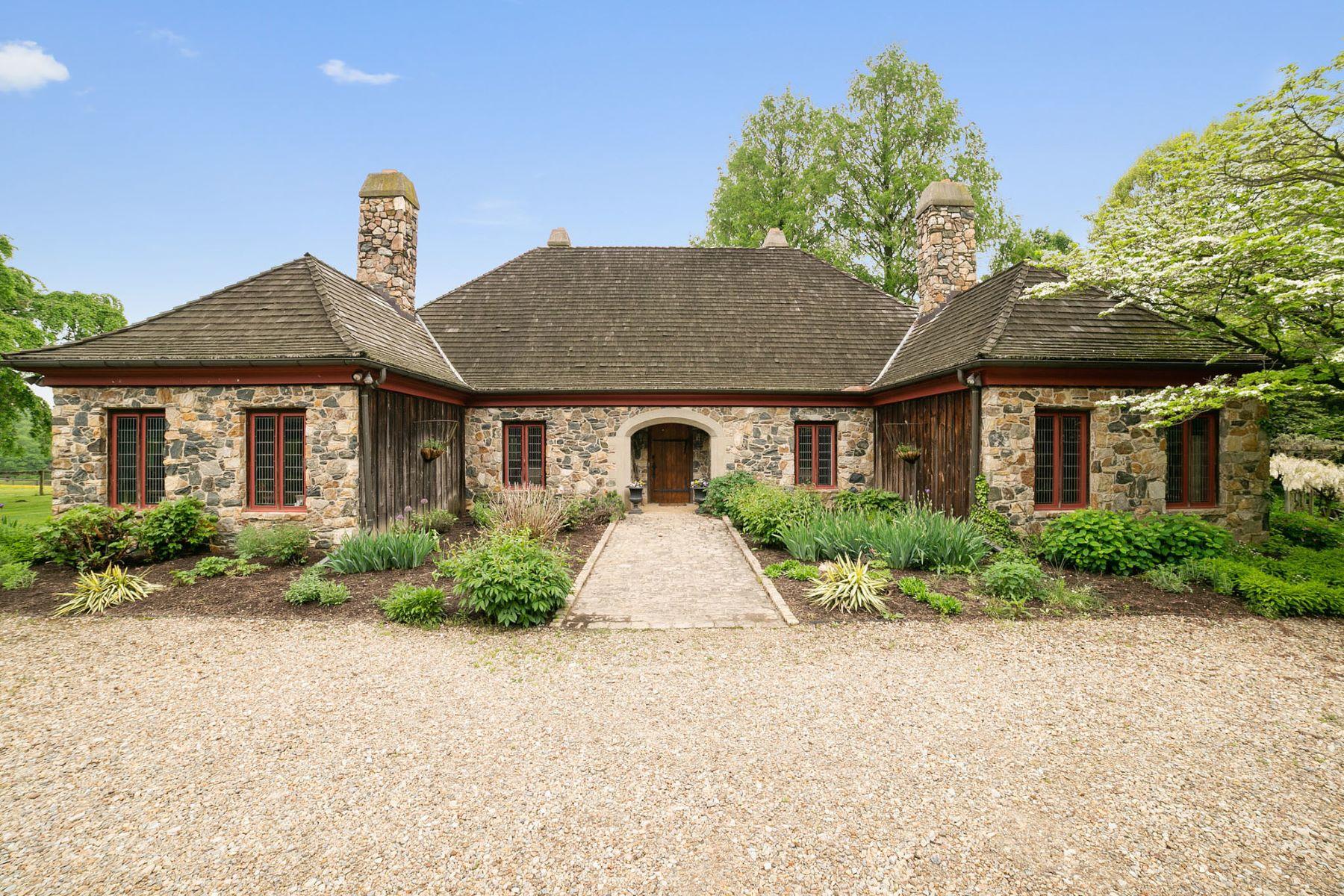 Частный односемейный дом для того Продажа на 1543 Embreeville Rd., Unionville, PA 19375 Unionville, Пенсильвания 19375 Соединенные Штаты