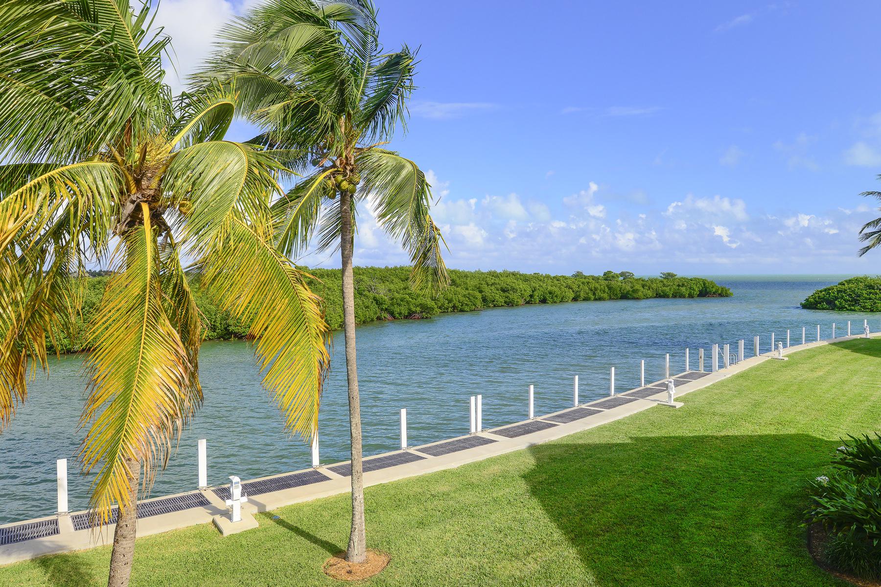 Condominium for Sale at Waterfront Condominium at Ocean Reef 51 Pumpkin Cay Road, Unit B Key Largo, Florida 3037 United States