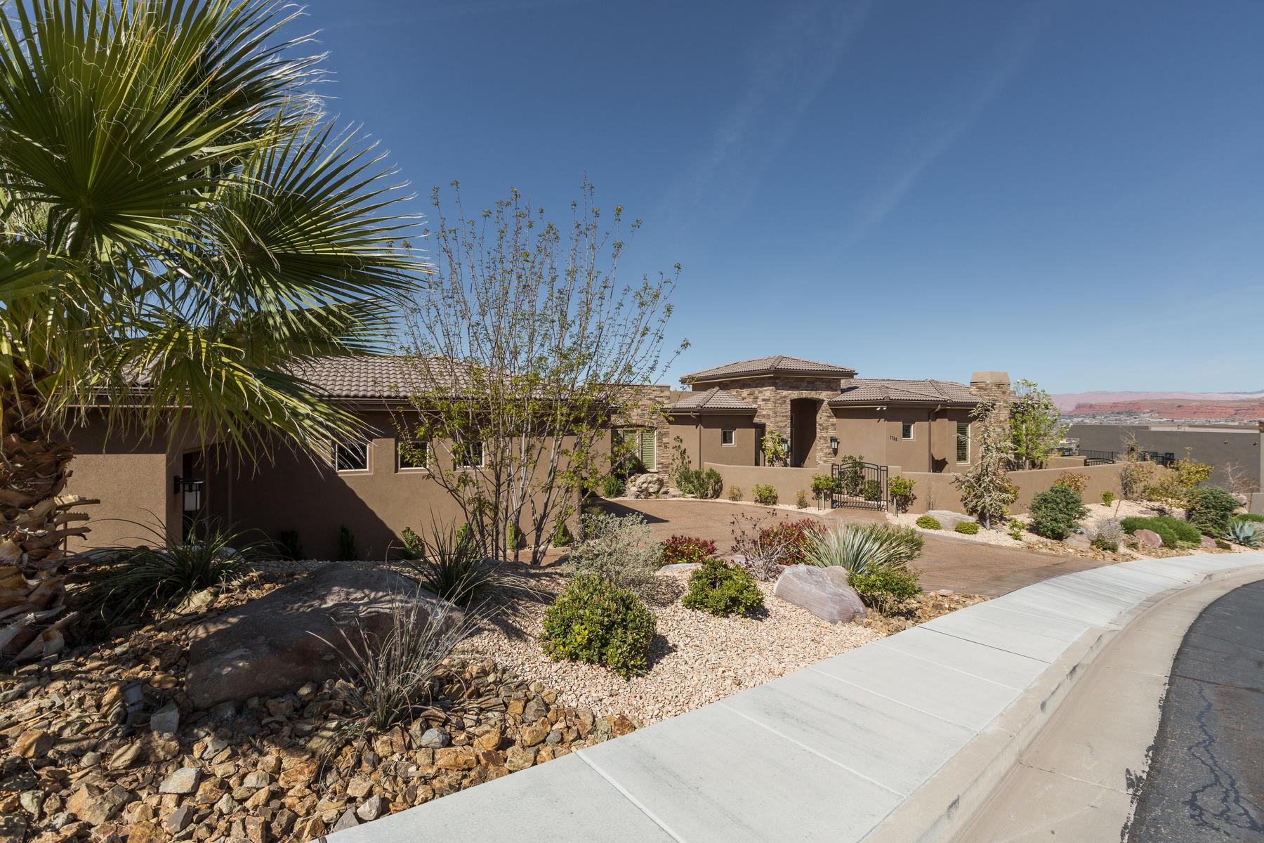 Maison unifamiliale pour l Vente à For Simple Elegance 1706 S Cliff Point Dr, St. George, Utah, 84790 États-Unis