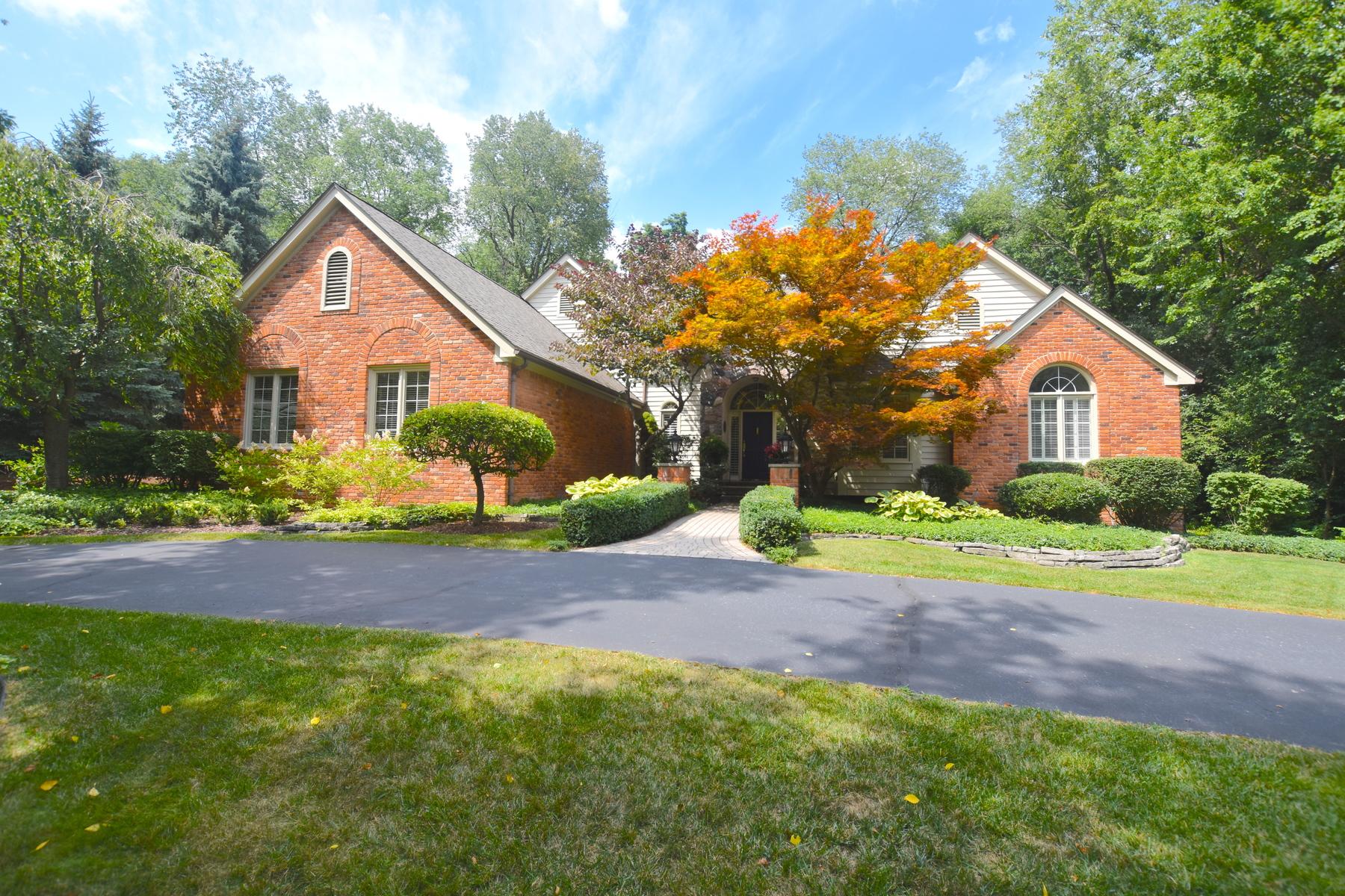 Single Family Homes pour l Vente à Bloomfield 1173 Foxwood Court, Bloomfield, Michigan 48304 États-Unis