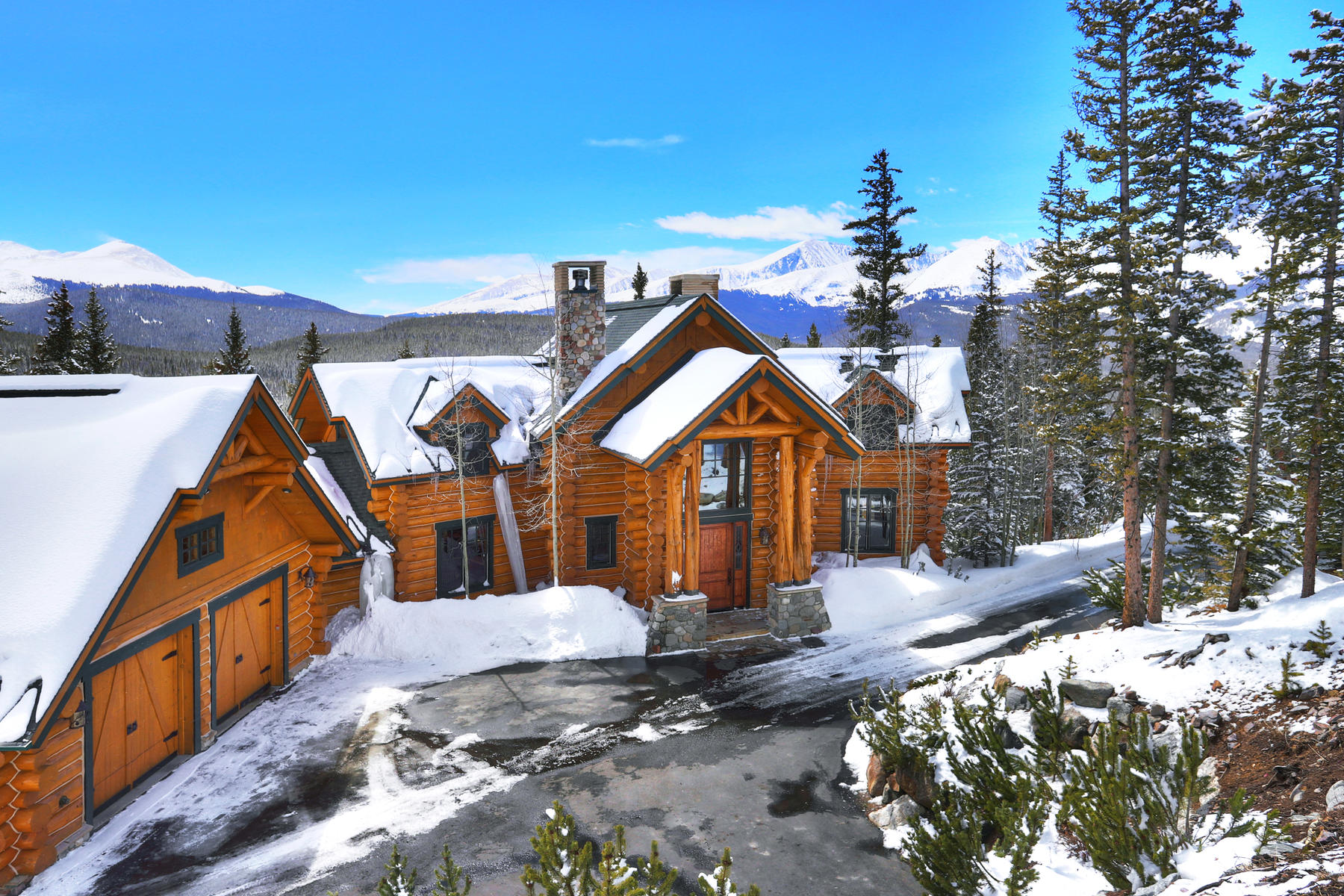 Single Family Home for Active at 831 Miners View 831 MIners View Road Breckenridge, Colorado 80424 United States