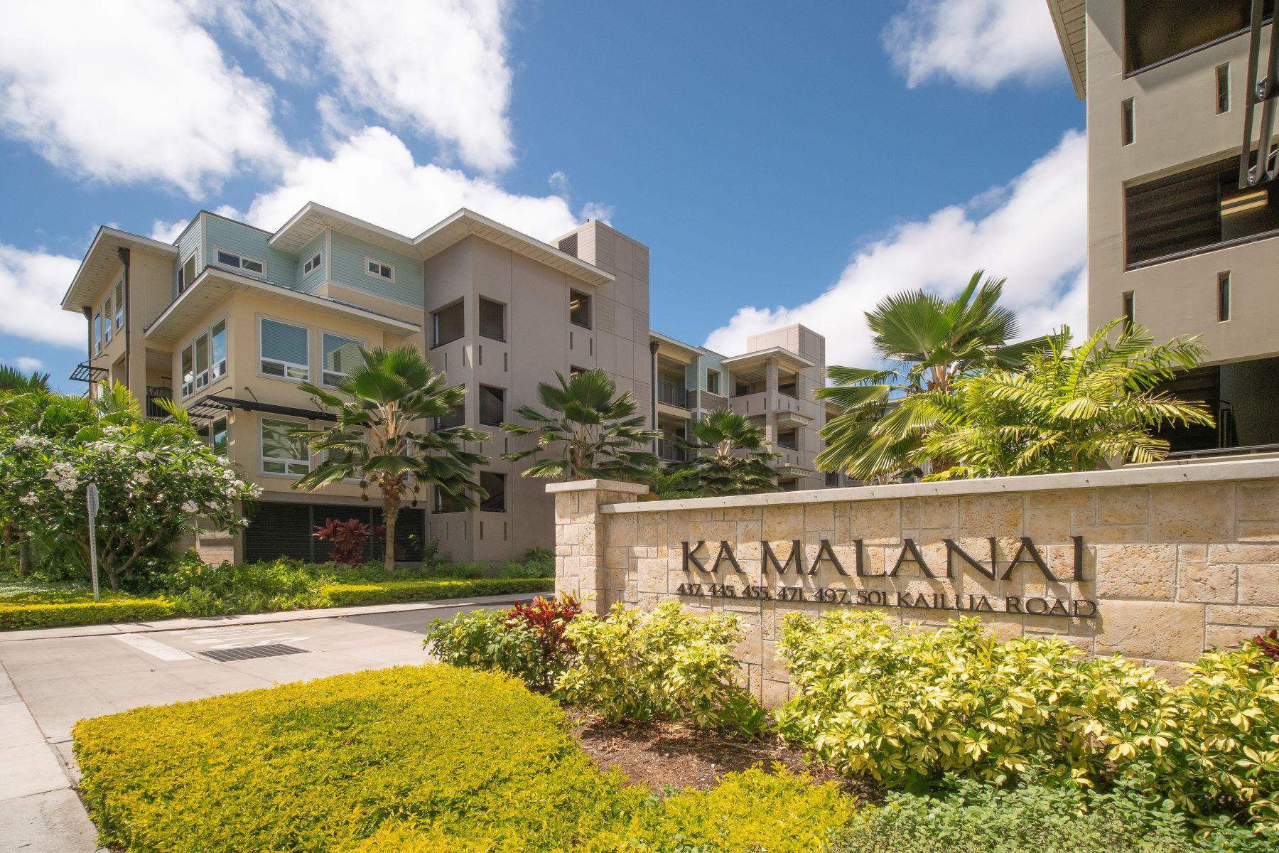 Condominiums for Sale at Ka Malanai@Kailua, Kailua Town, Mountain Views, Sunrise Views, Sunset Views 361 Kailua Road #8303 Kailua, Hawaii 96734 United States